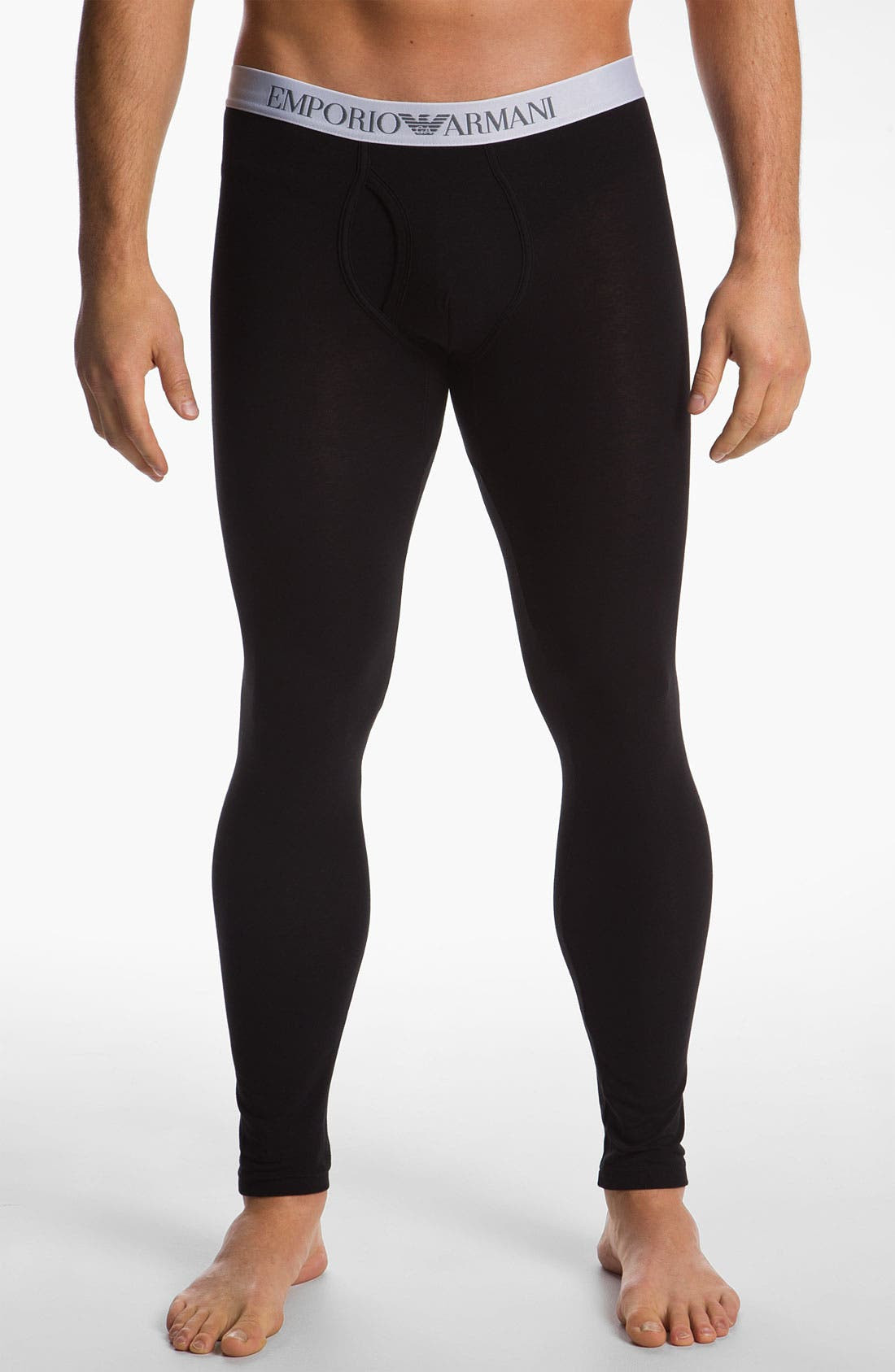 Main Image - Emporio Armani 'Basic' Stretch Leggings