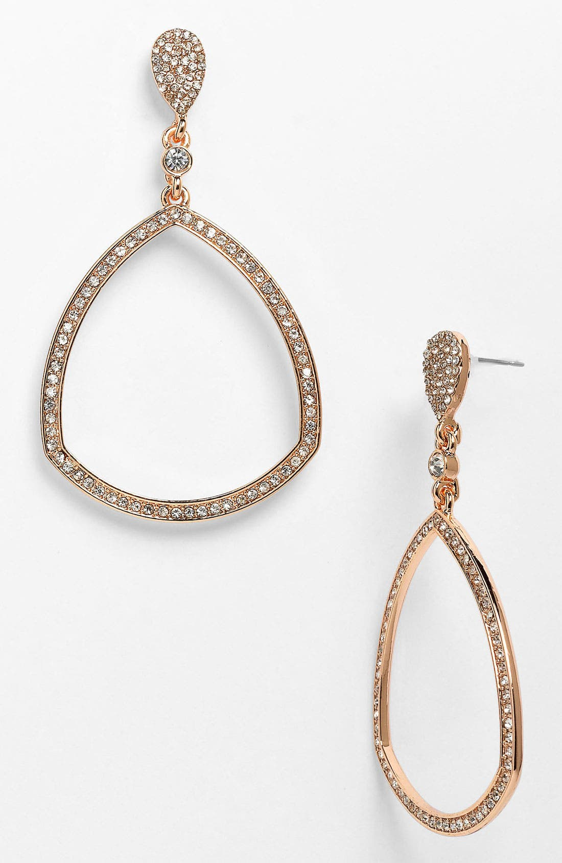 Alternate Image 1 Selected - Vince Camuto Open Teardrop Earrings