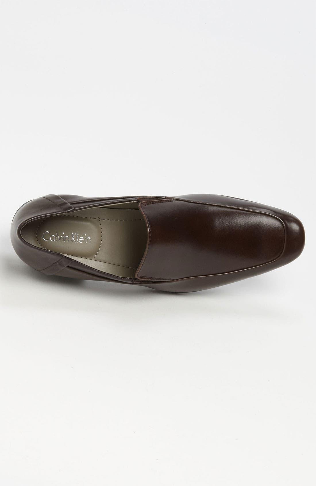 Alternate Image 3  - Calvin Klein 'Brad' Venetian Loafer