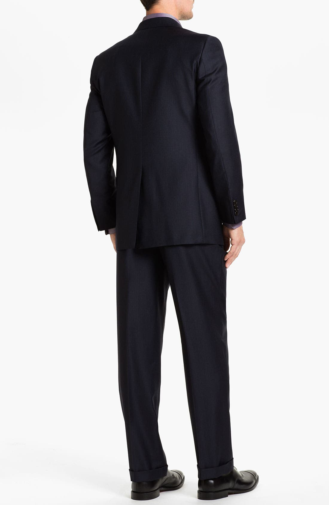 Alternate Image 3  - Hickey Freeman 'A Series' Worsted Wool Suit