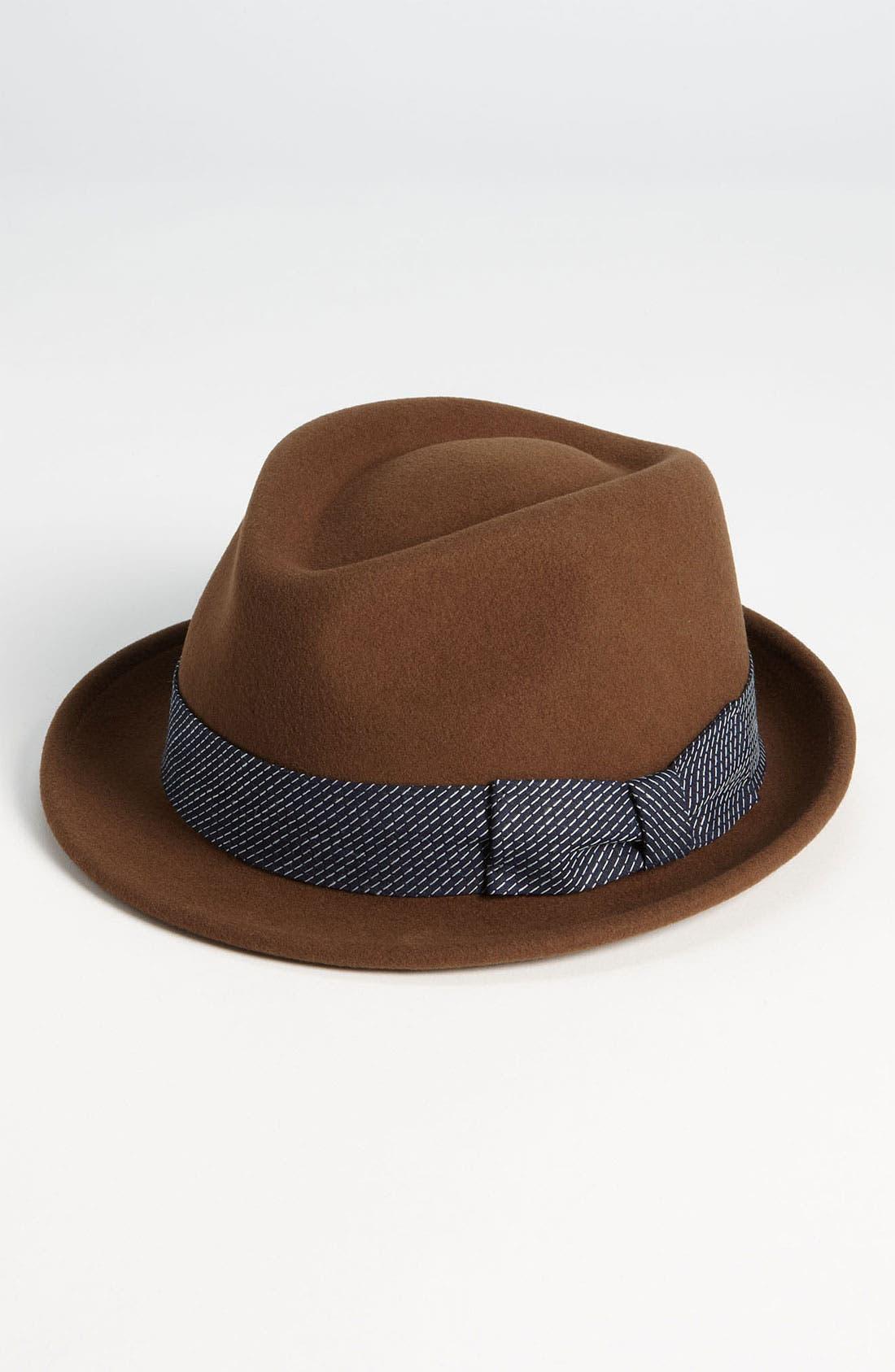 Alternate Image 1 Selected - rag & bone Wool Trilby Hat