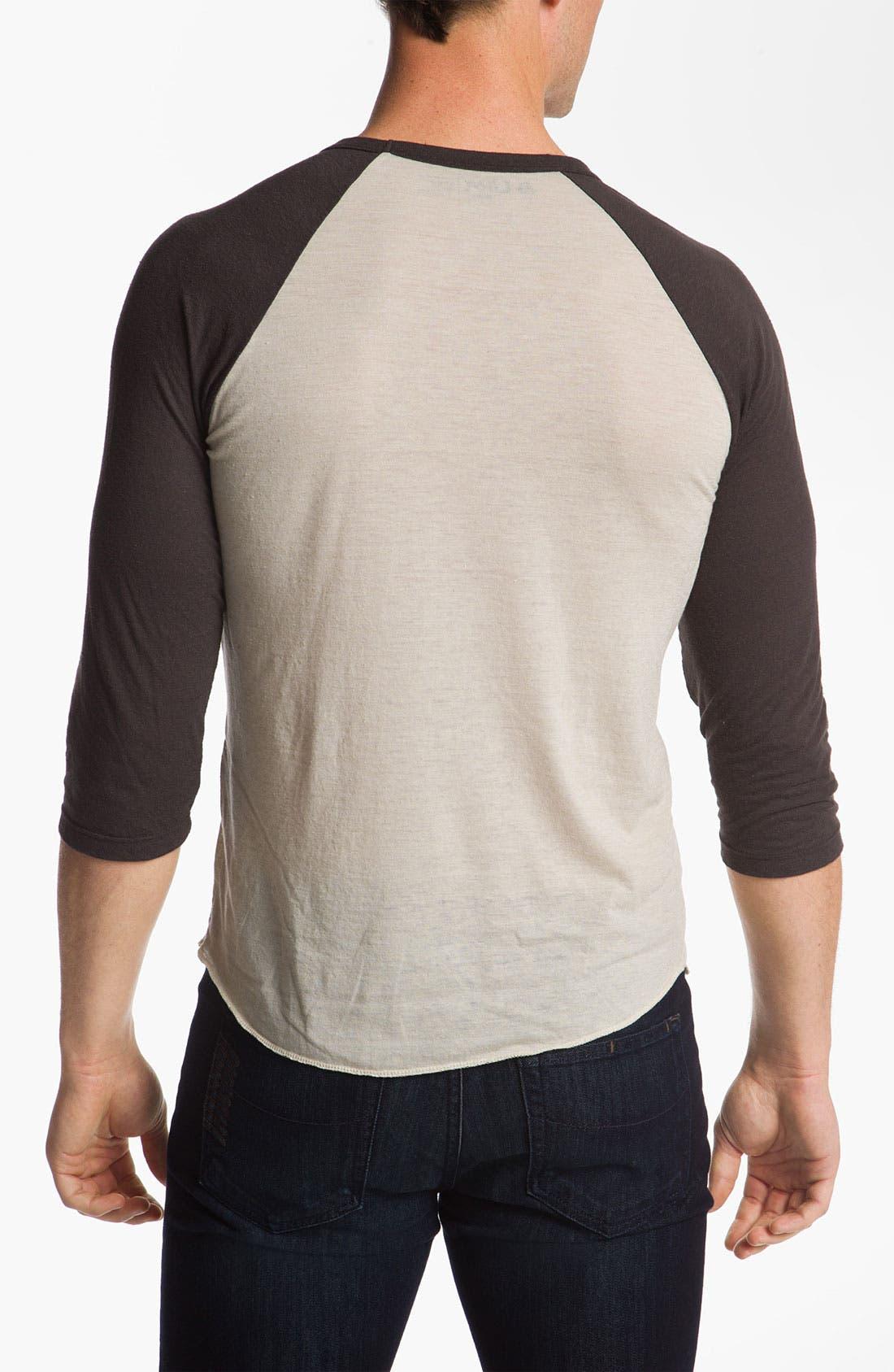 Alternate Image 2  - Lira Clothing Graphic Baseball T-Shirt