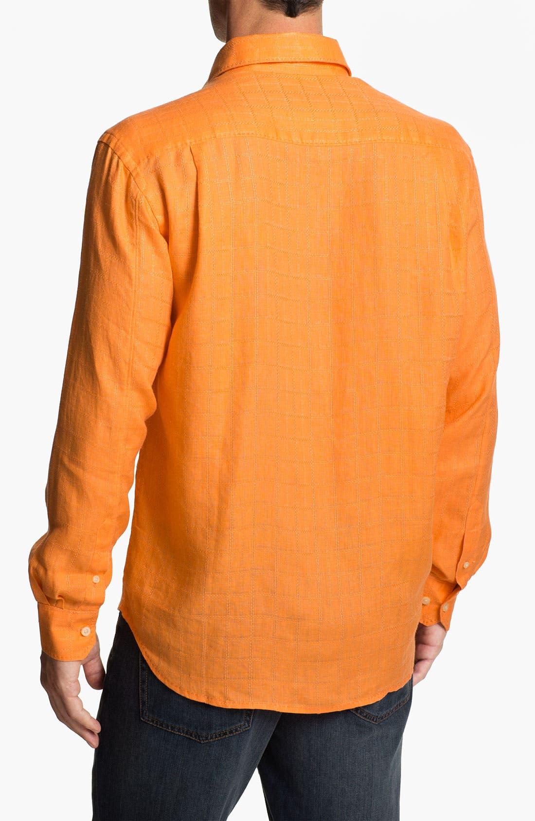 Alternate Image 2  - Tommy Bahama 'Costa Sera' Linen Sport Shirt
