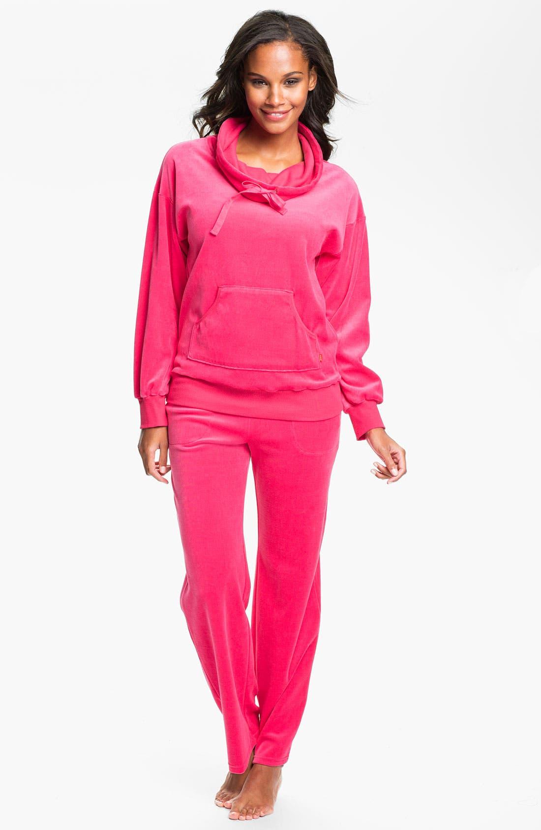 Alternate Image 4  - Josie 'Sacha' Velour Pants