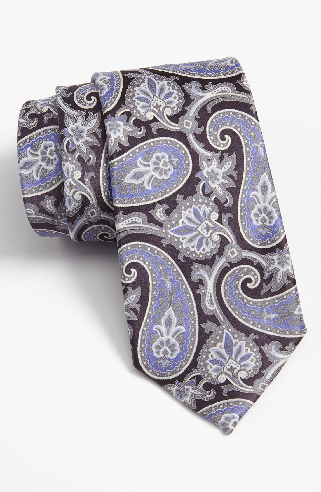 Alternate Image 1 Selected - Valentino Print Silk Tie