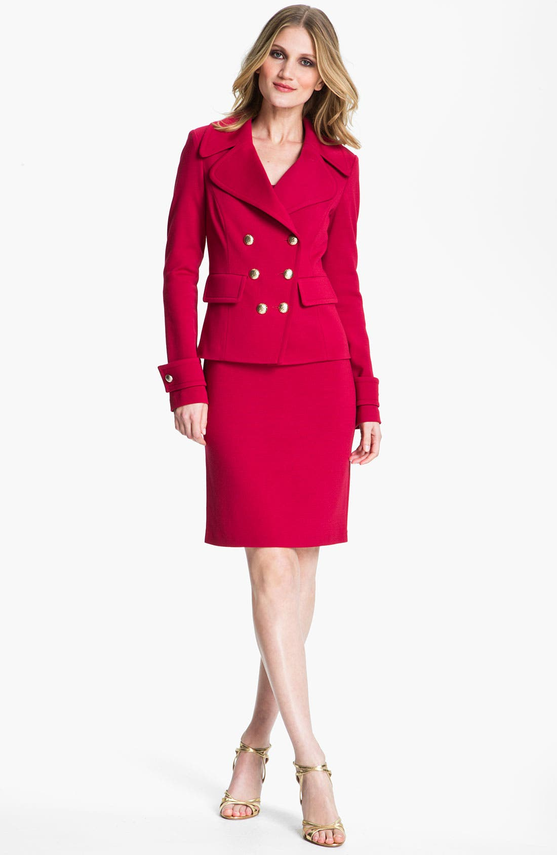 Alternate Image 4  - St. John Collection Milano Knit Dress