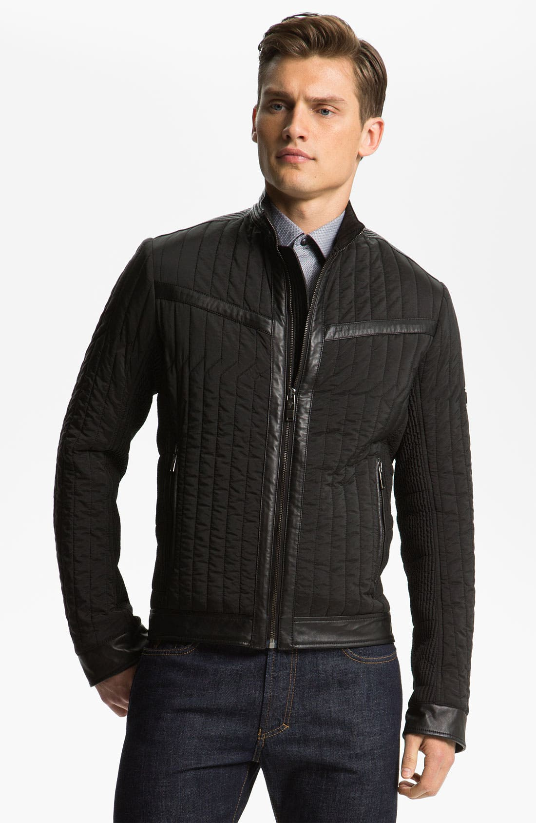 Alternate Image 1 Selected - Versace Quilted Jacket