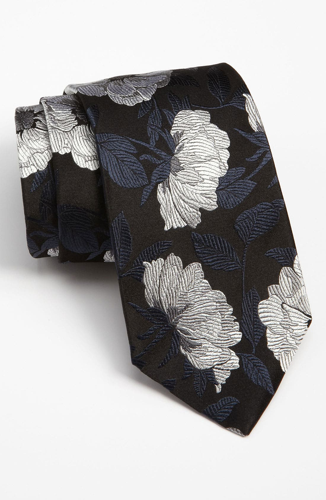 Main Image - Duchamp 'Tudor Rose' Silk Tie