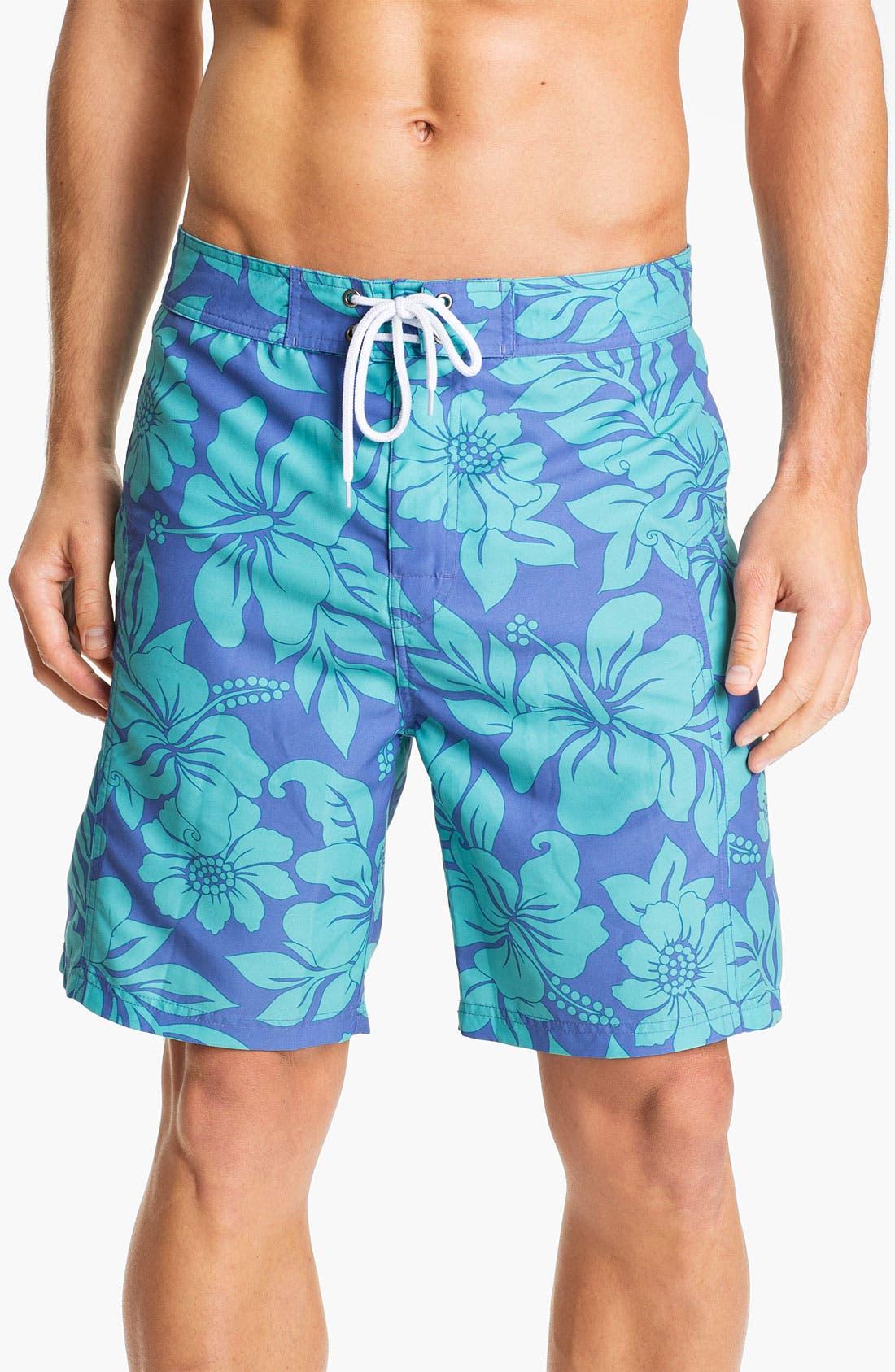Alternate Image 1 Selected - Trunks Surf & Swim 'Salty Boardie' Board Shorts
