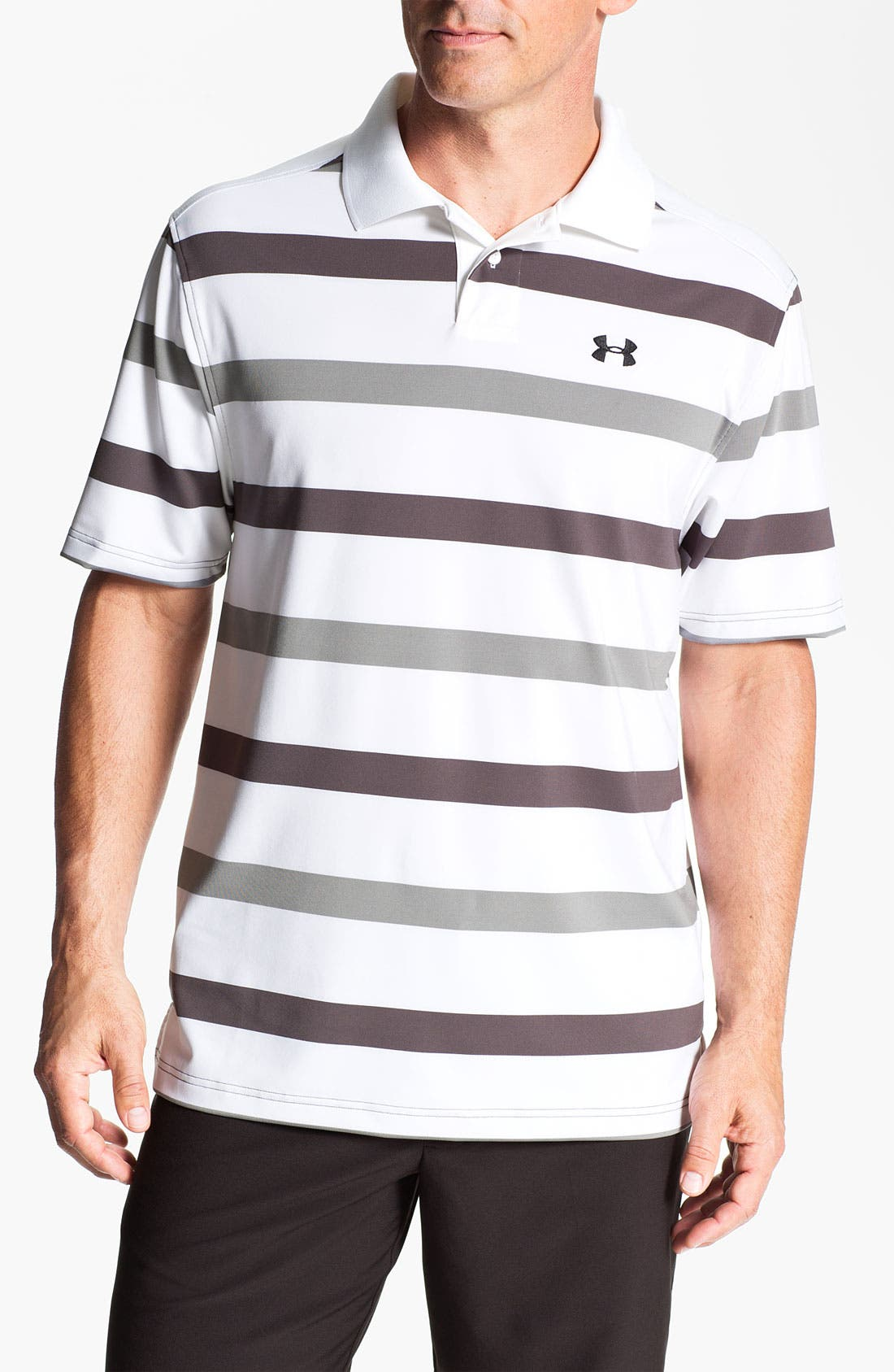 Alternate Image 1 Selected - Under Armour HeatGear® Polo