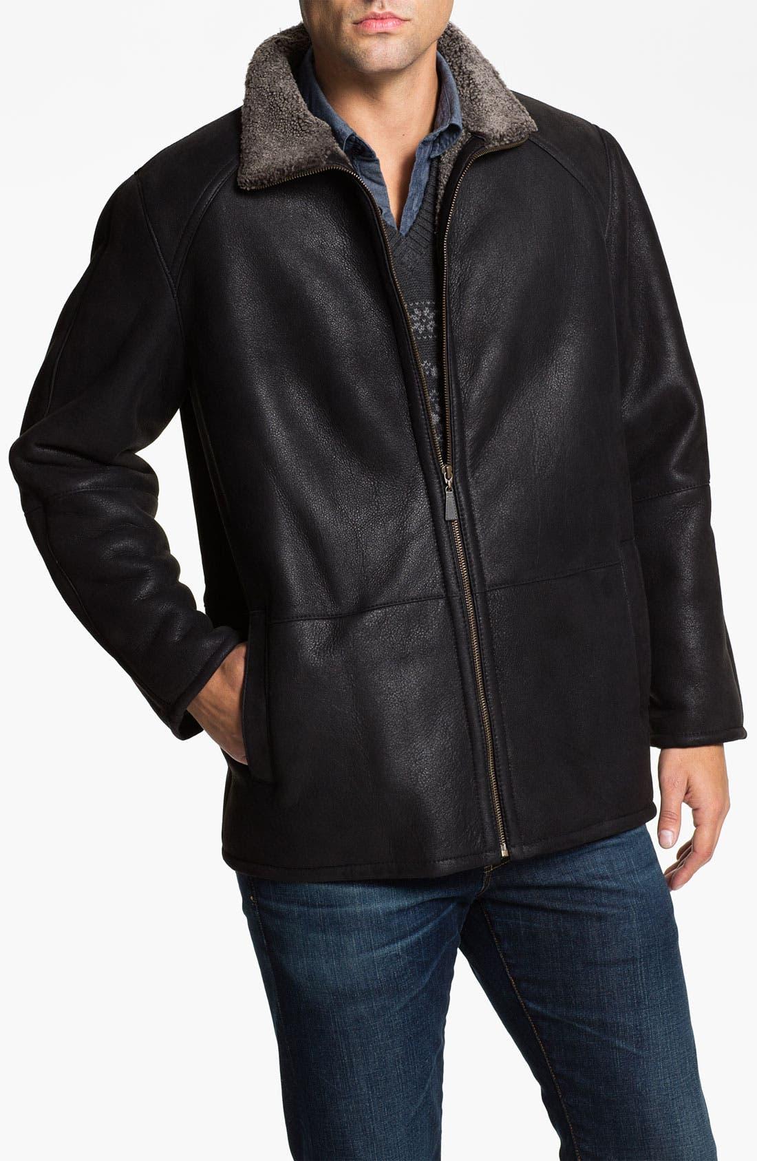 Alternate Image 1 Selected - Blue Duck Leather Jacket