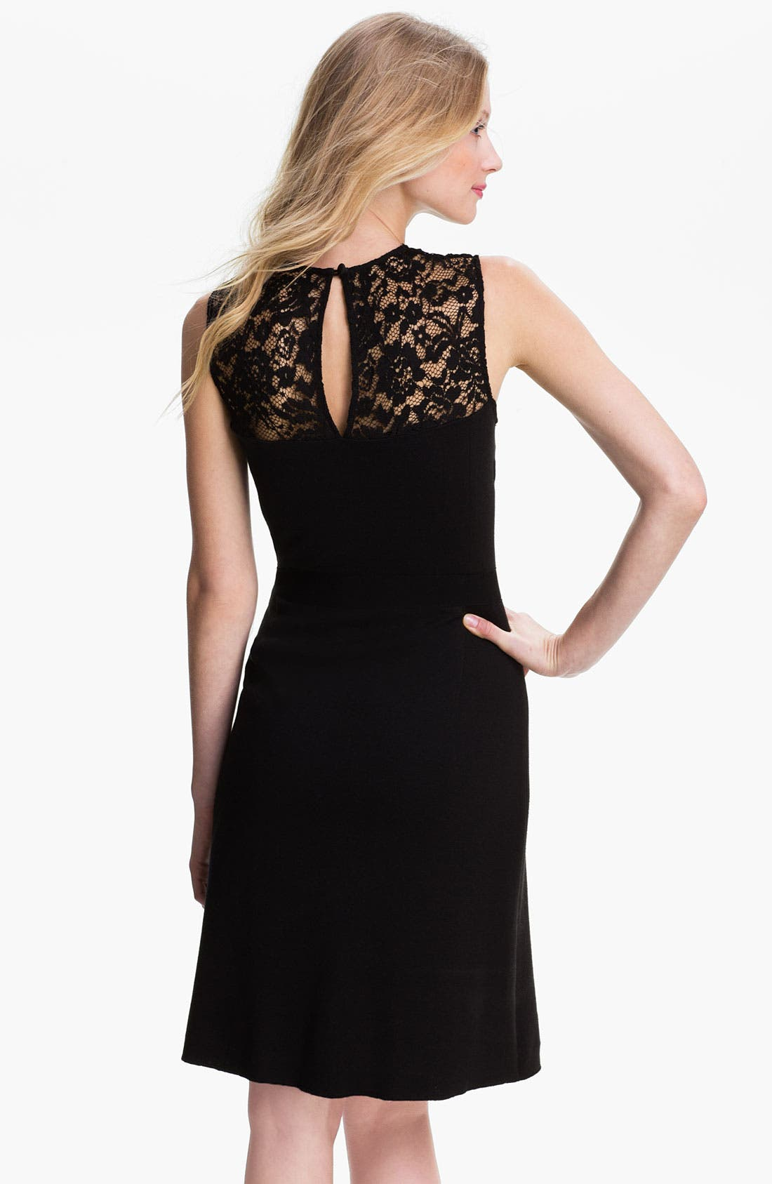 Alternate Image 2  - Tory Burch 'Adrianna' Wool Blend A-Line Dress