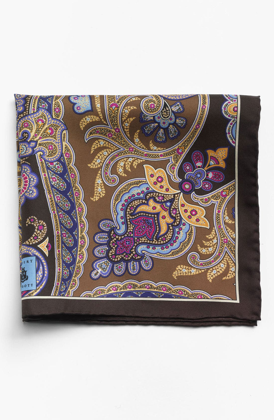 Alternate Image 1 Selected - Robert Talbott Paisley Pocket Square
