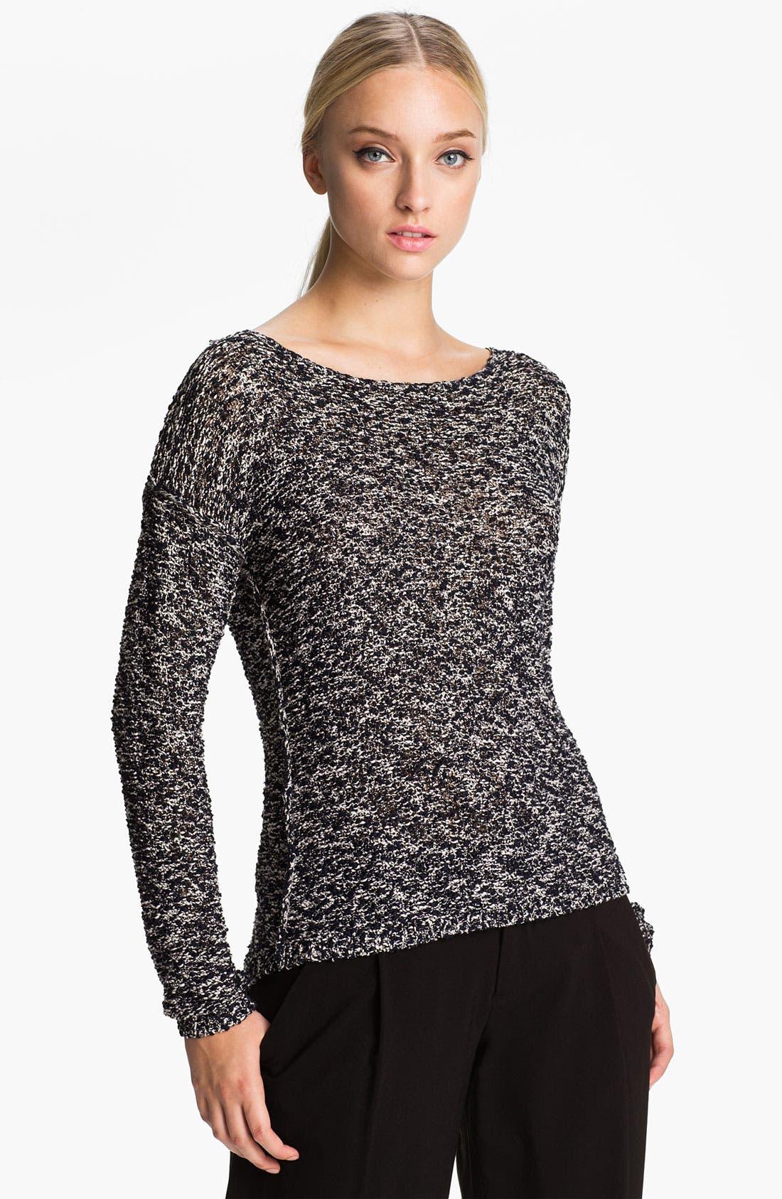 Alternate Image 1 Selected - Alice + Olivia 'Gloria' Boxy Knit Sweater