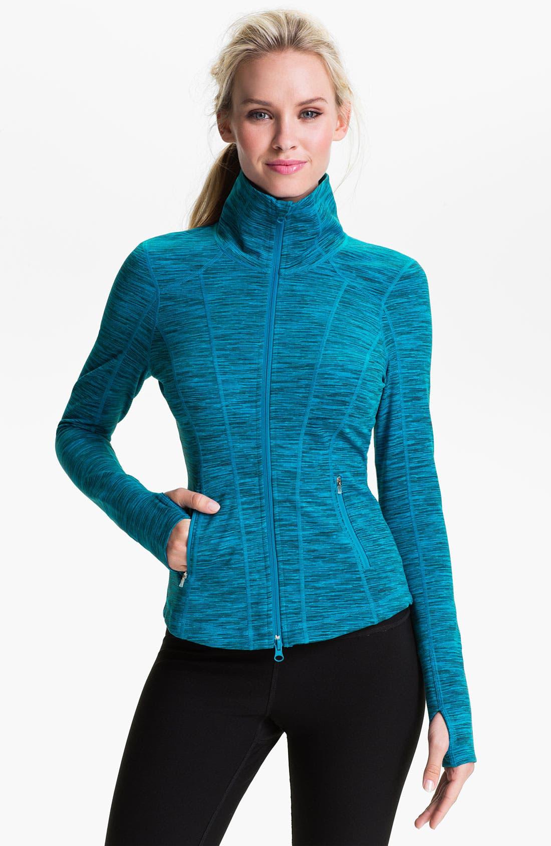 Alternate Image 2  - Zella 'Sophia' Space Dye Jacket