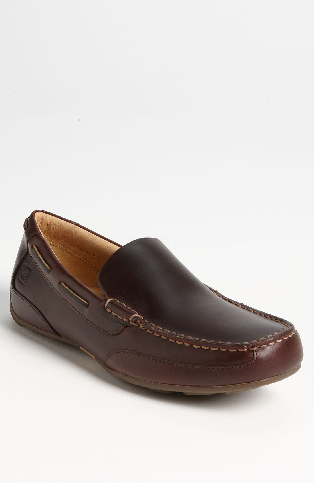 Top-Sider<sup>®</sup> 'Navigator Venetian' Driving Shoe,                         Main,                         color, Amaretto