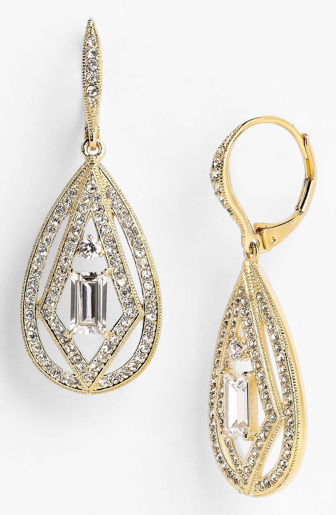 Main Image - Nadri 'Art Deco' Drop Earrings (Nordstrom Exclusive)