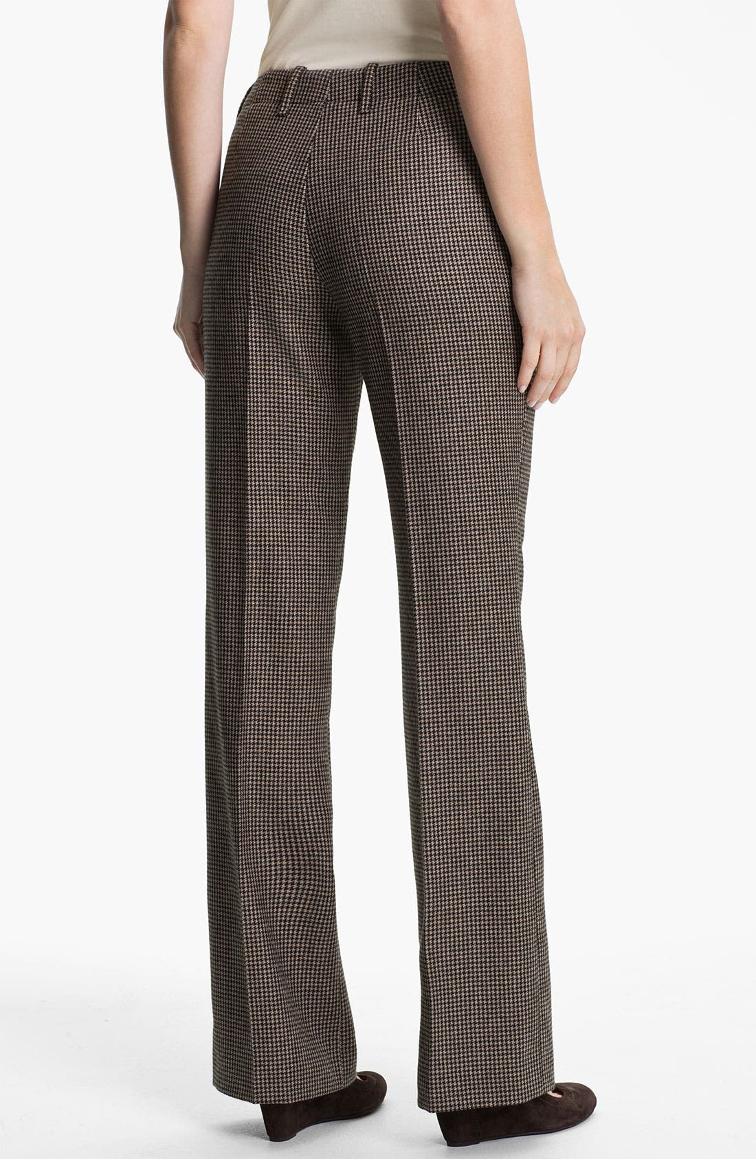 Alternate Image 2  - BOSS HUGO BOSS 'Tulia4' Check Pattern Trousers