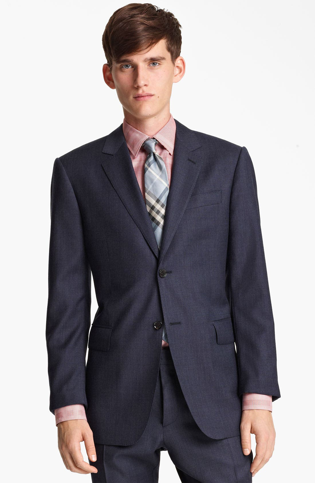 Alternate Image 1 Selected - Burberry London Extra Trim Fit Wool Suit