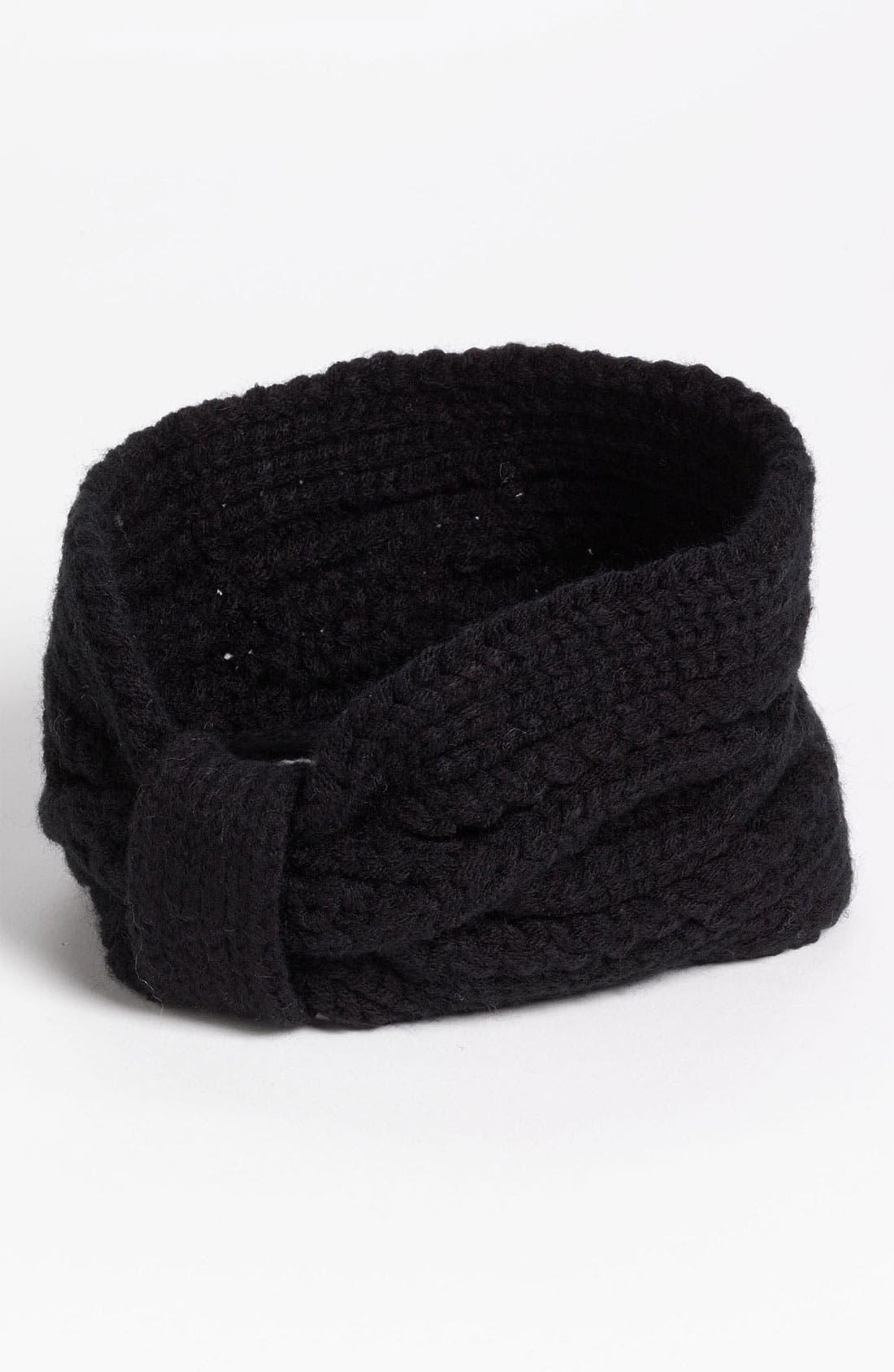 Main Image - BP. Wide Bow Knit Headband