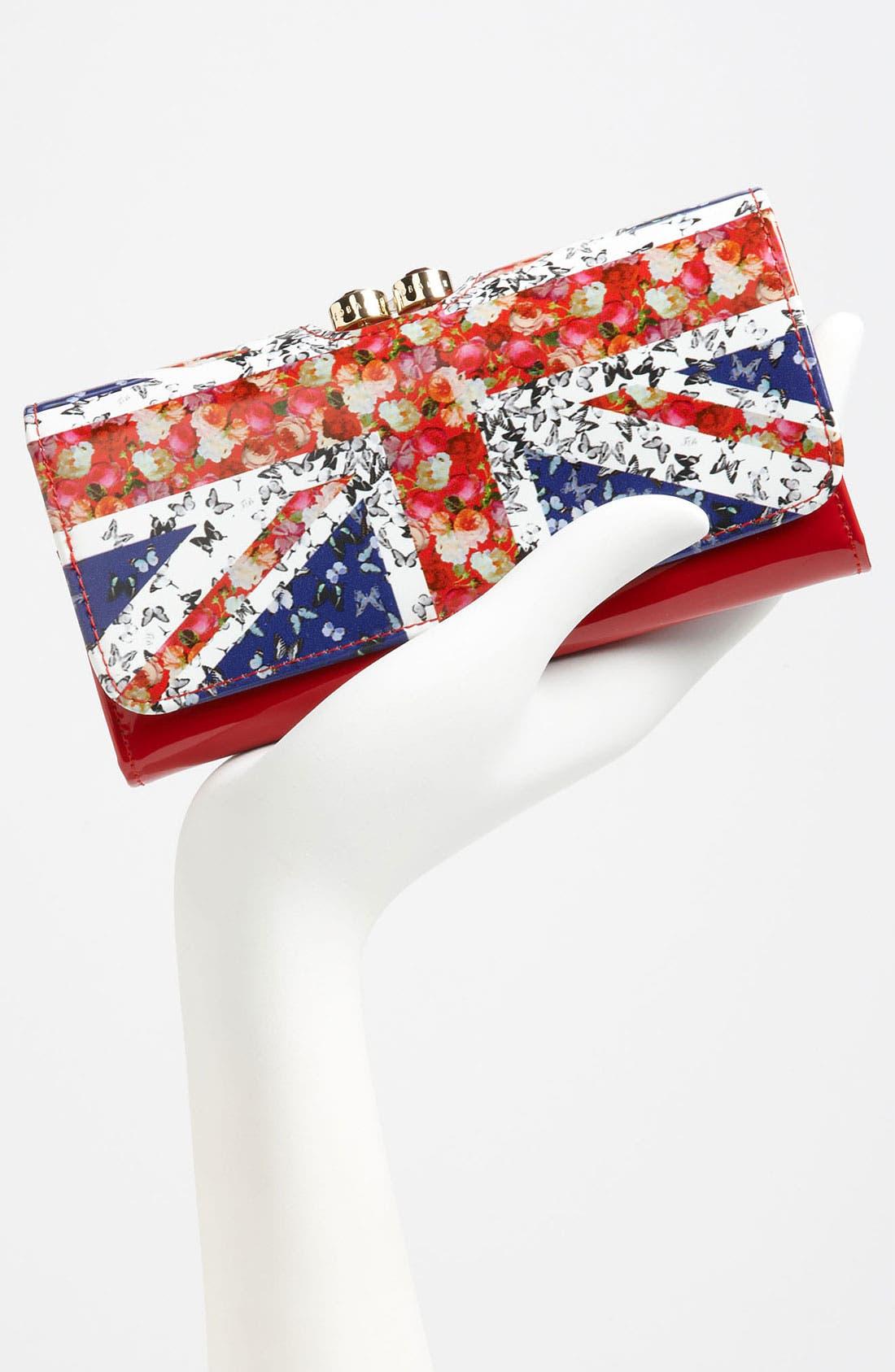 Alternate Image 2  - Ted Baker London 'Union Jack - Crystal Bobble' Matinee Wallet