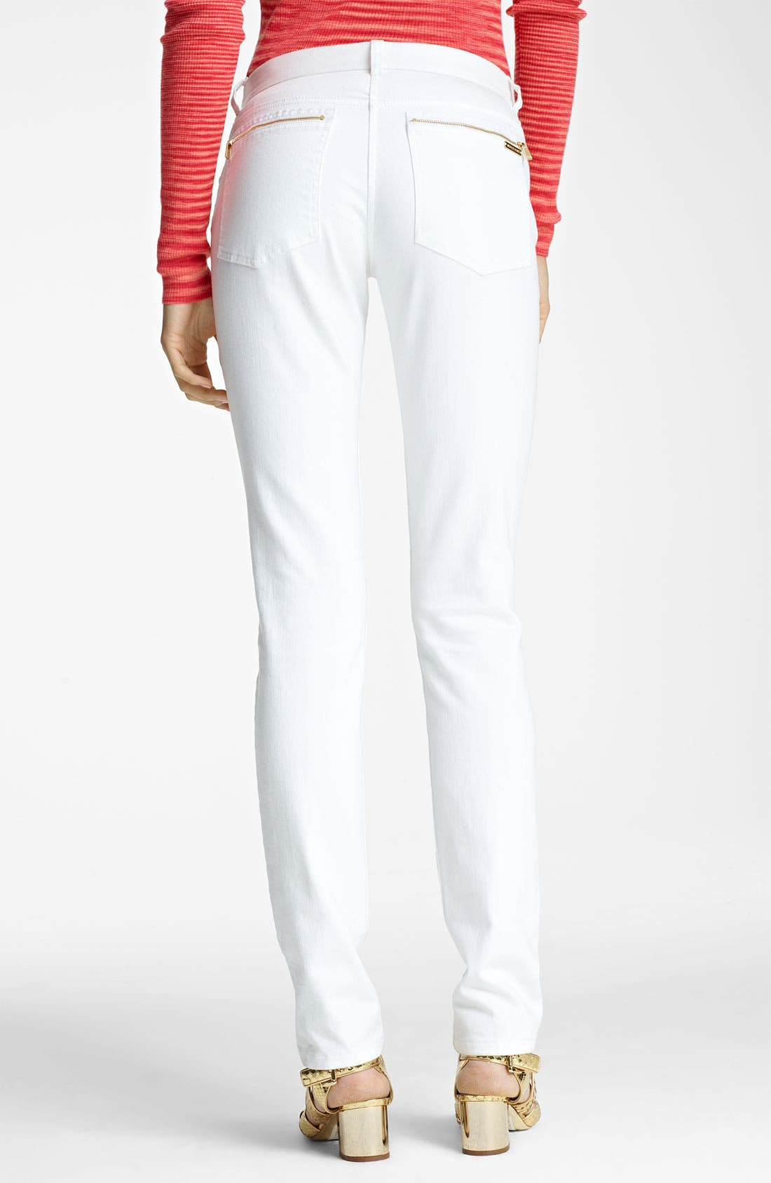 Alternate Image 2  - Michael Kors Stovepipe Stretch Jeans
