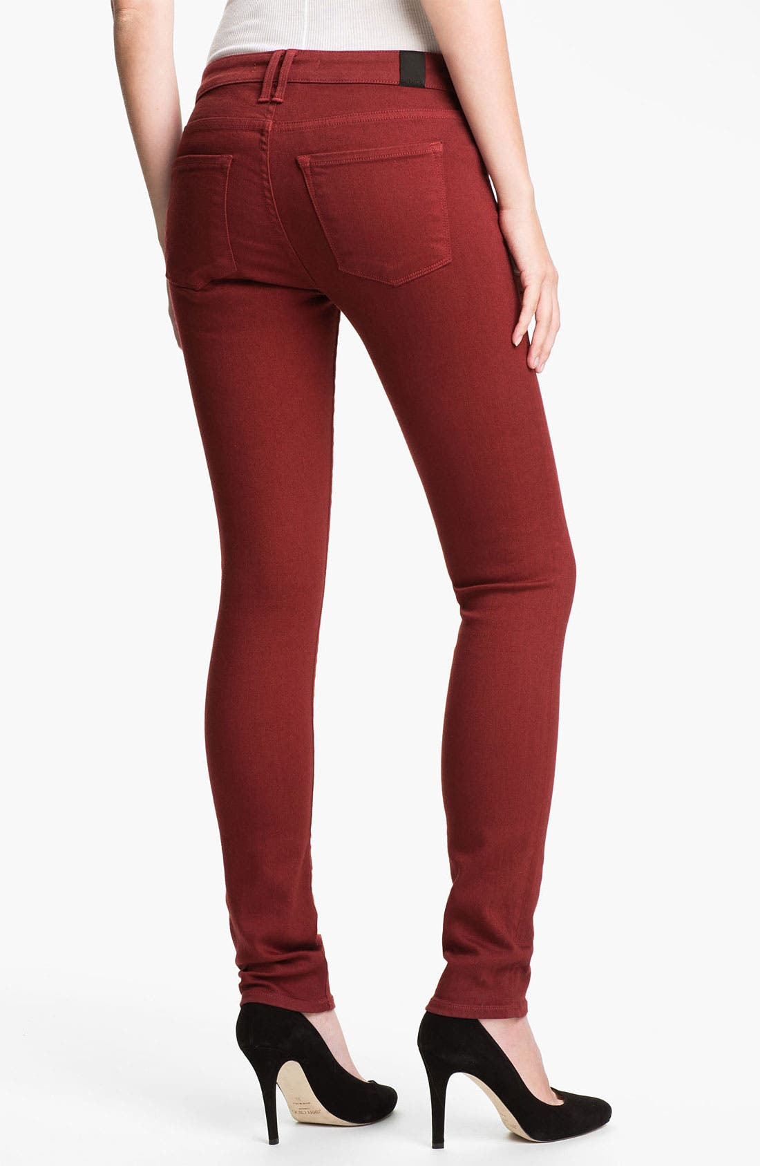 Alternate Image 2  - Vince Colored Stretch Skinny Jeans