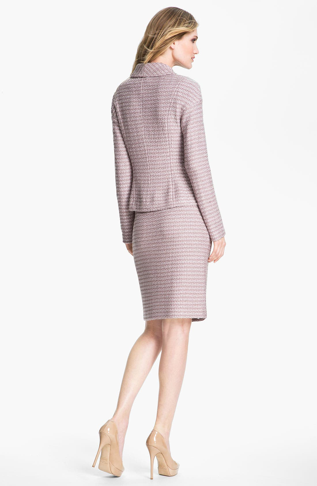 Alternate Image 4  - St. John Collection Madison Tweed Skirt