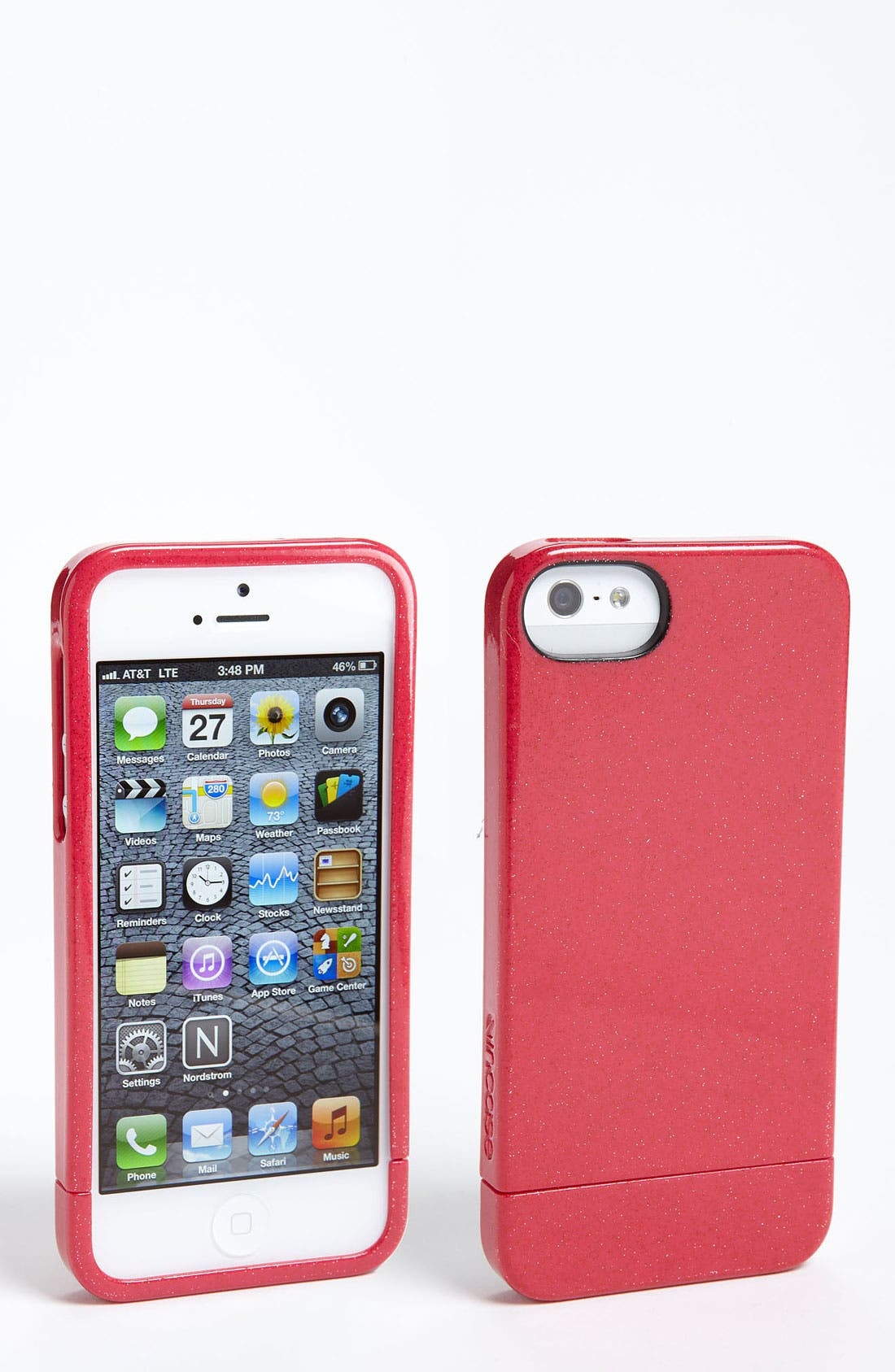 Alternate Image 1 Selected - Incase Designs 'Crystal' iPhone 5 Slider Case