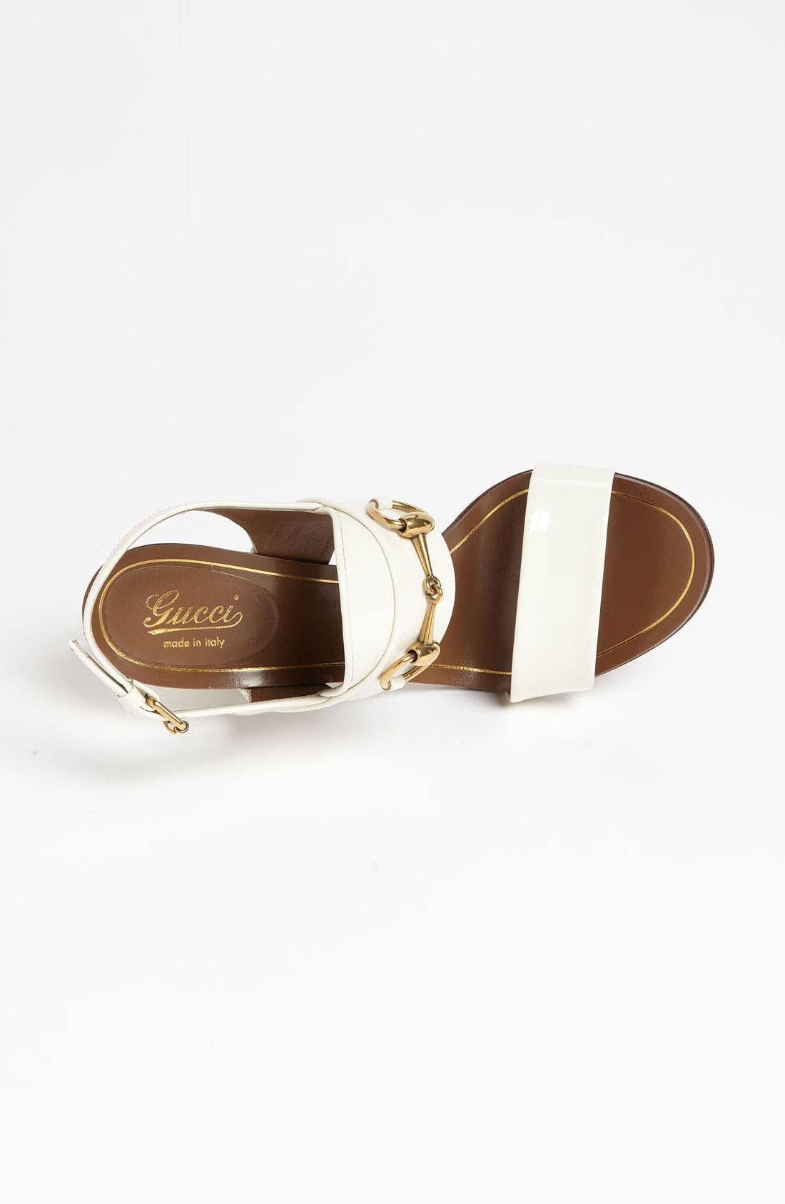 Alternate Image 3  - Gucci 'Alyssa' Sandal