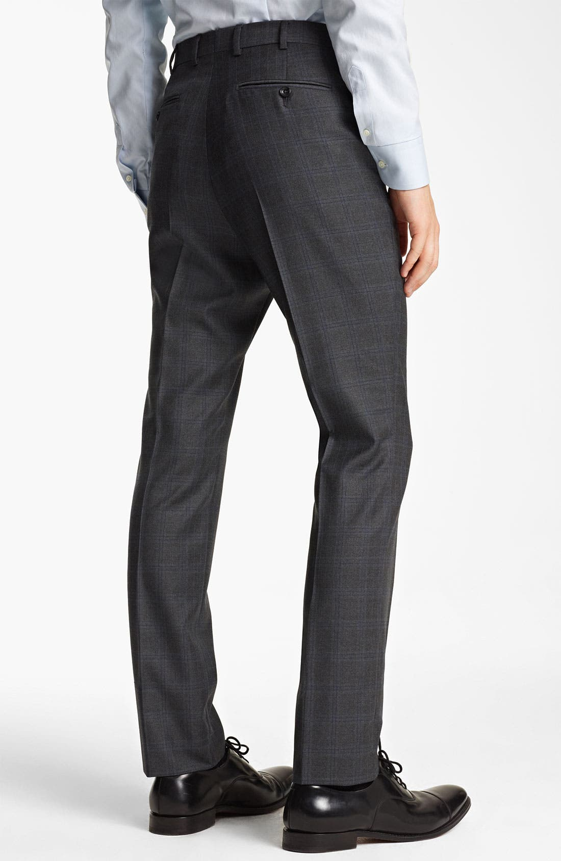 Alternate Image 5  - Z Zegna Trim Fit Check Wool Suit