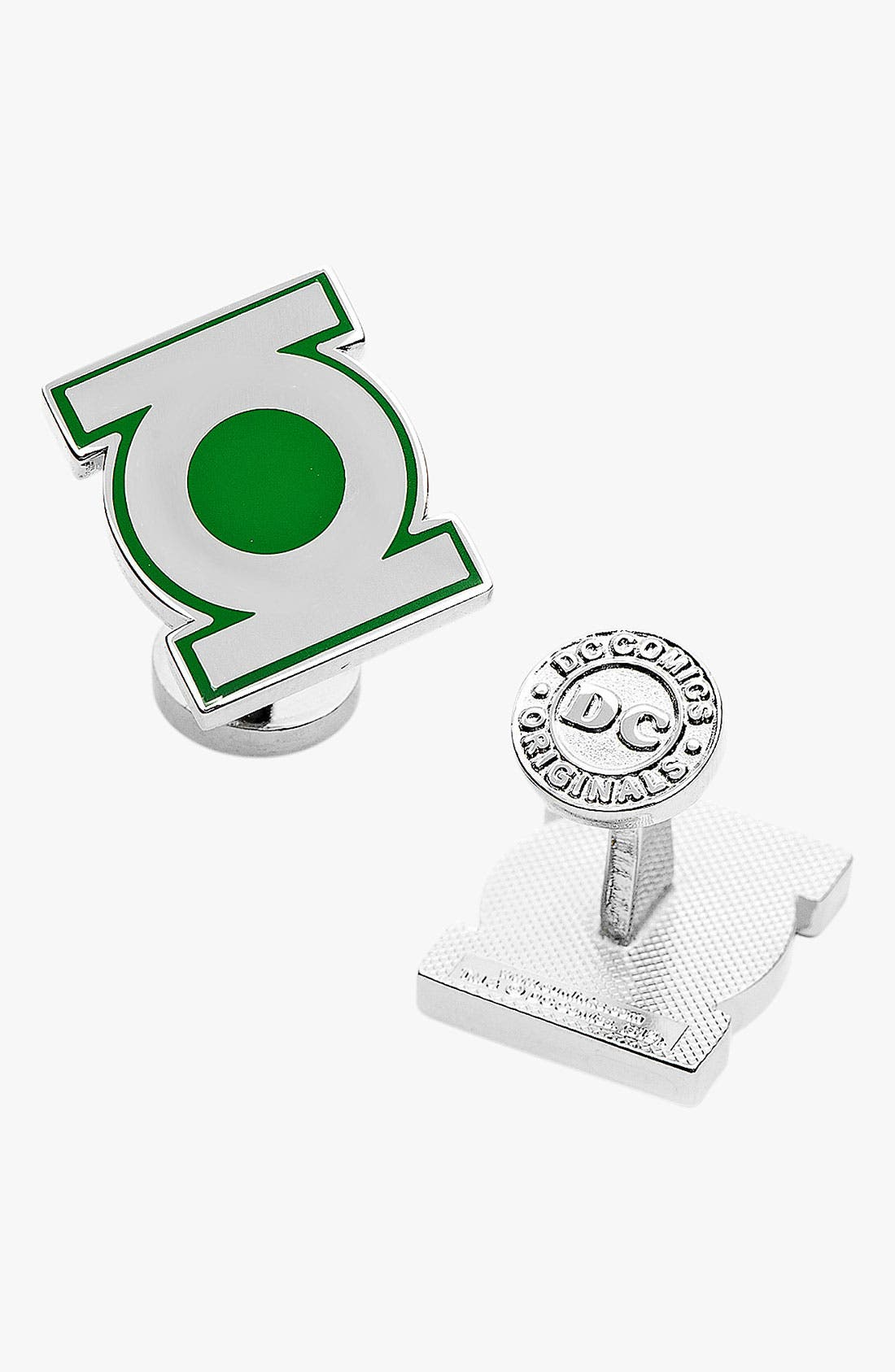 Alternate Image 1 Selected - Cufflinks, Inc. 'Green Lantern' Cuff Links