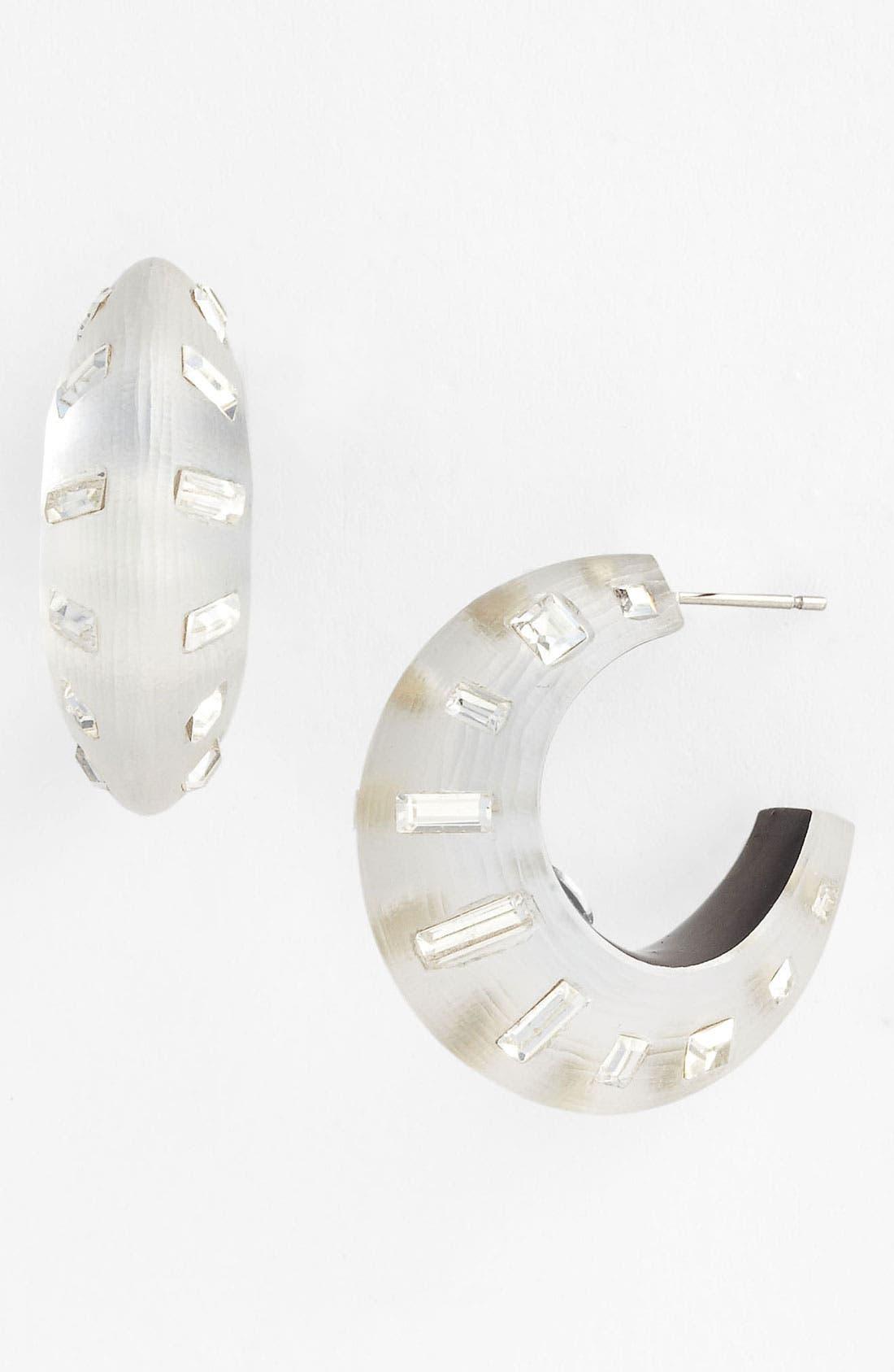 Alternate Image 1 Selected - Alexis Bittar 'Teatro Moderne - Radiant Dust' Hoop Earrings
