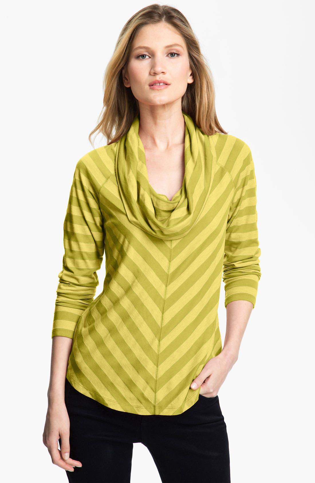 Alternate Image 1 Selected - Amber Sun Slub Stretch Knit Top