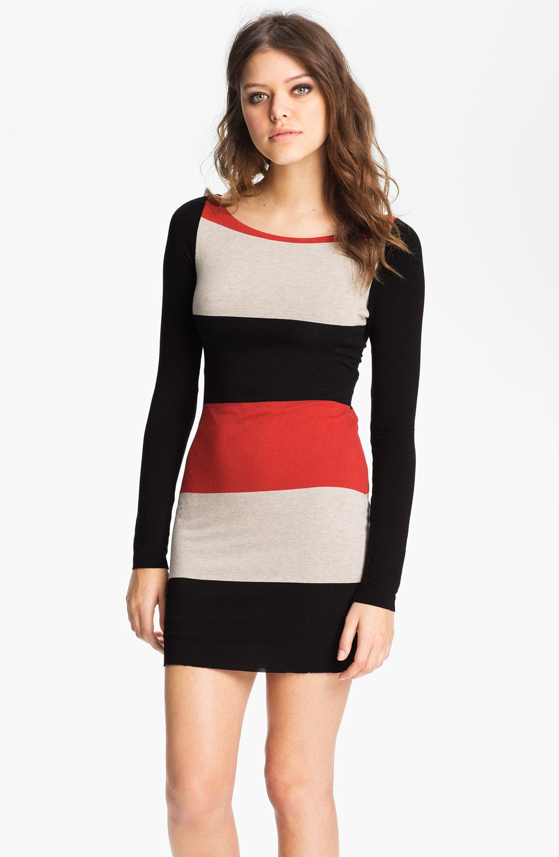 Main Image - B44 Dressed by Bailey 44 Colorblock Cross Back Jersey Dress