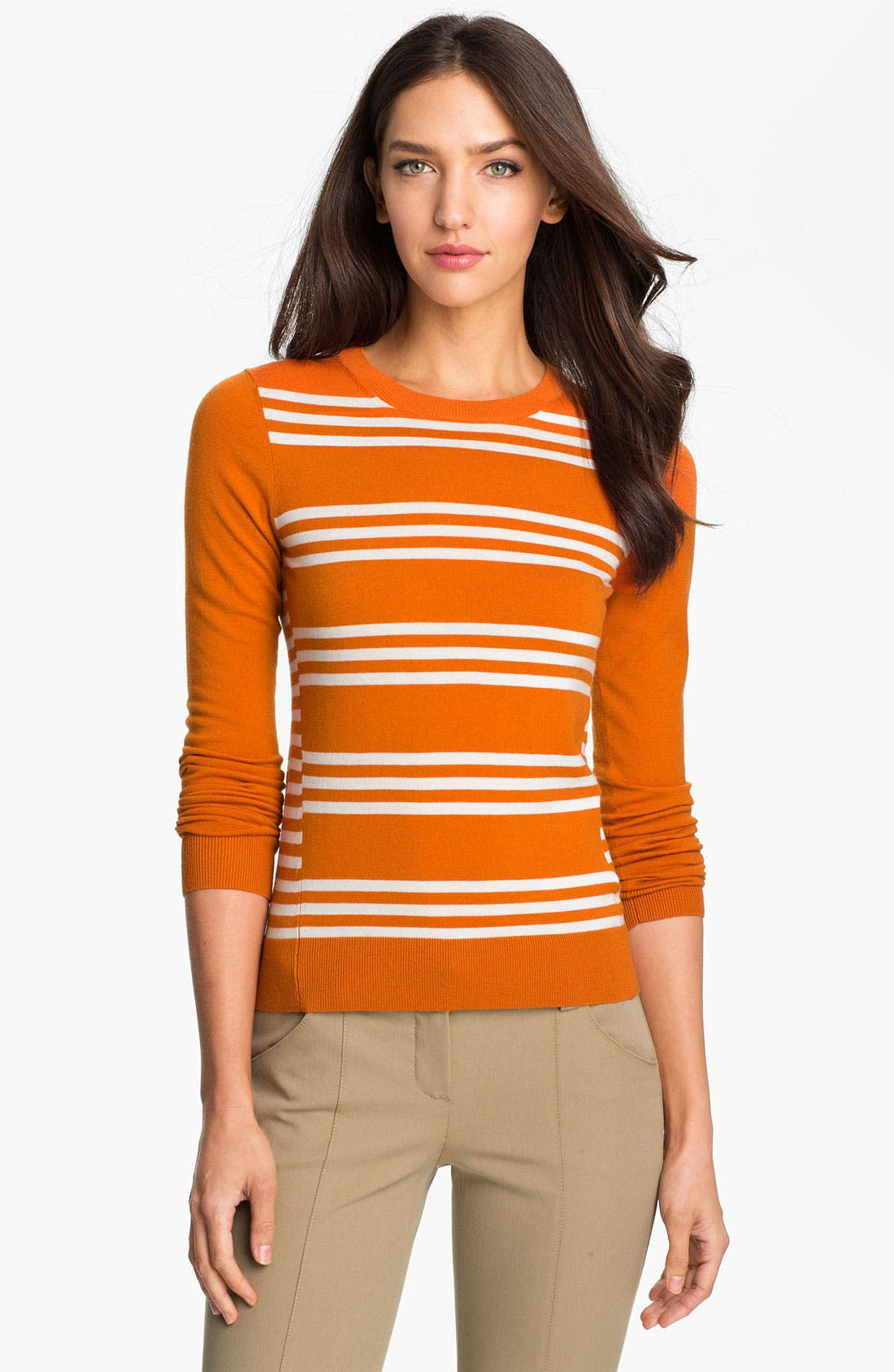 Main Image - Theory 'Tommie' Stripe Sweater