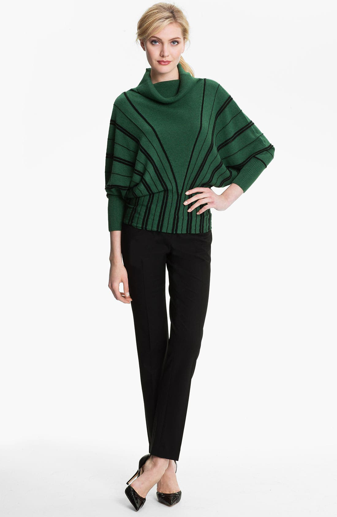 Alternate Image 4  - Alberto Makali Cowl Neck Sweater