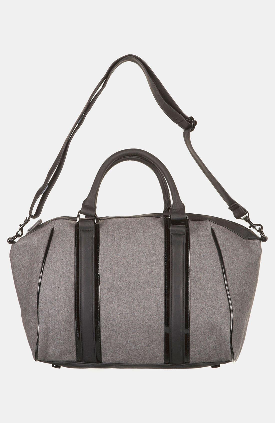 Alternate Image 2  - Topshop Felt Duffel Bag