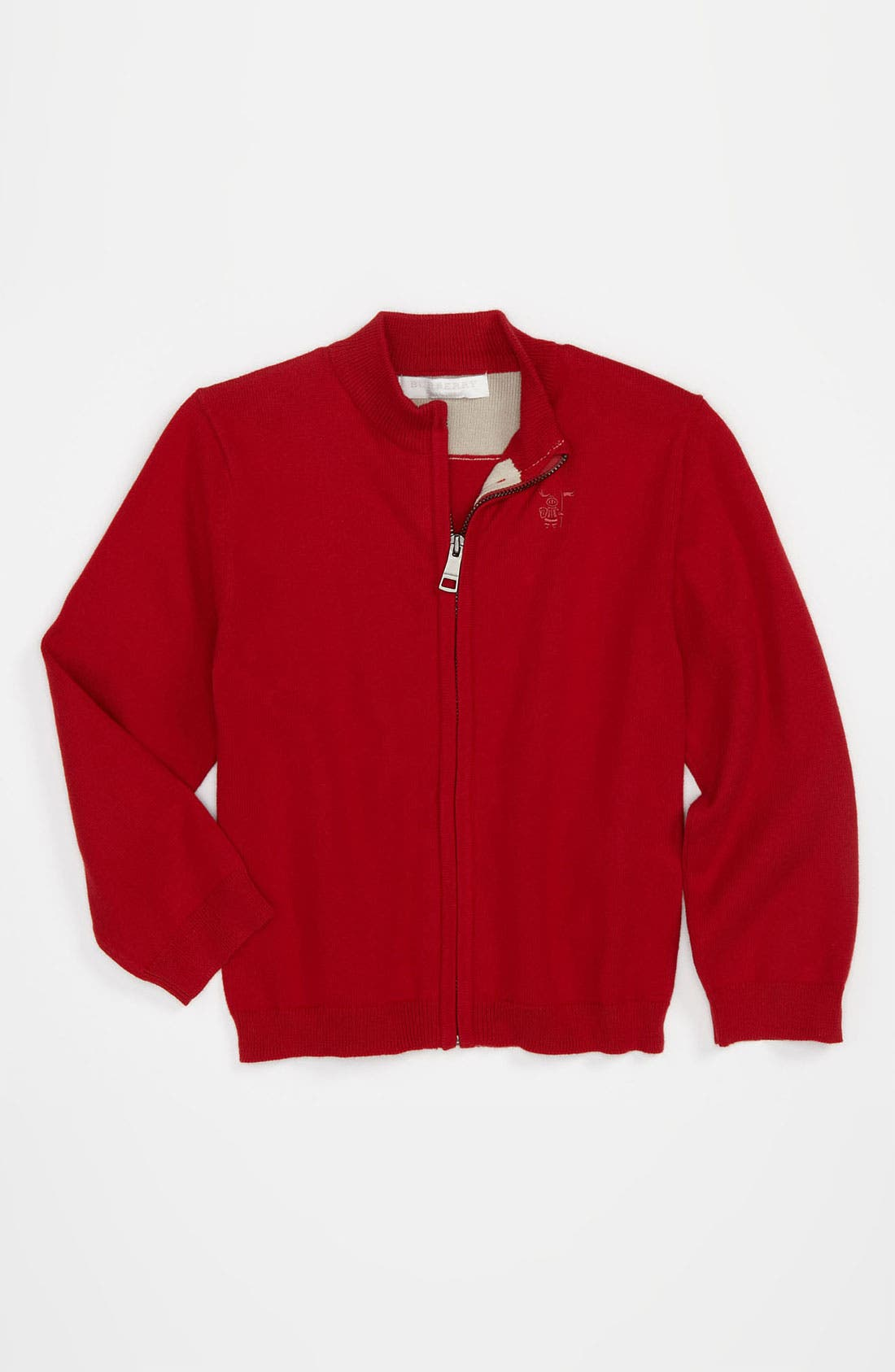 Main Image - Burberry High Neck Sweater (Toddler)