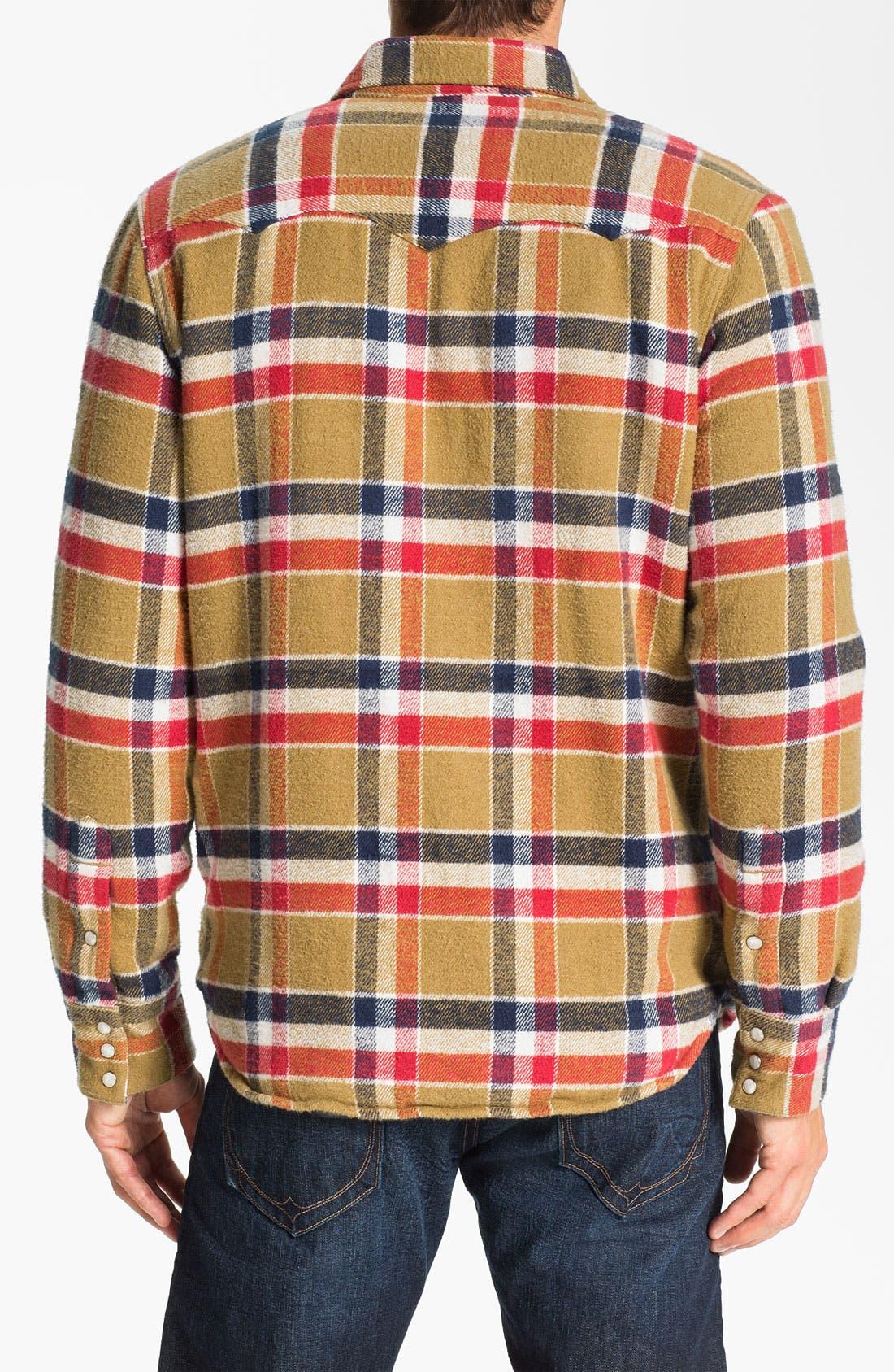 Alternate Image 2  - True Religion Brand Jeans Plaid Flannel Shirt Jacket