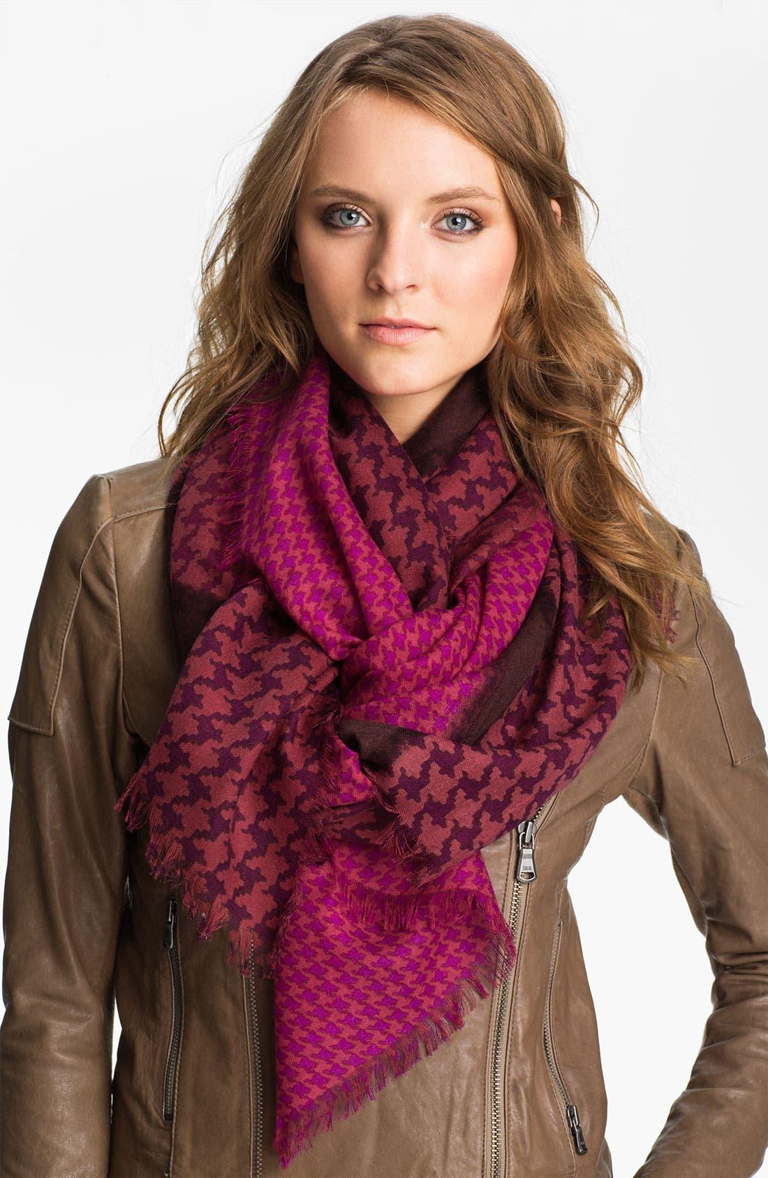 Main Image - Halogen® 'Emery' Wool Challis Scarf