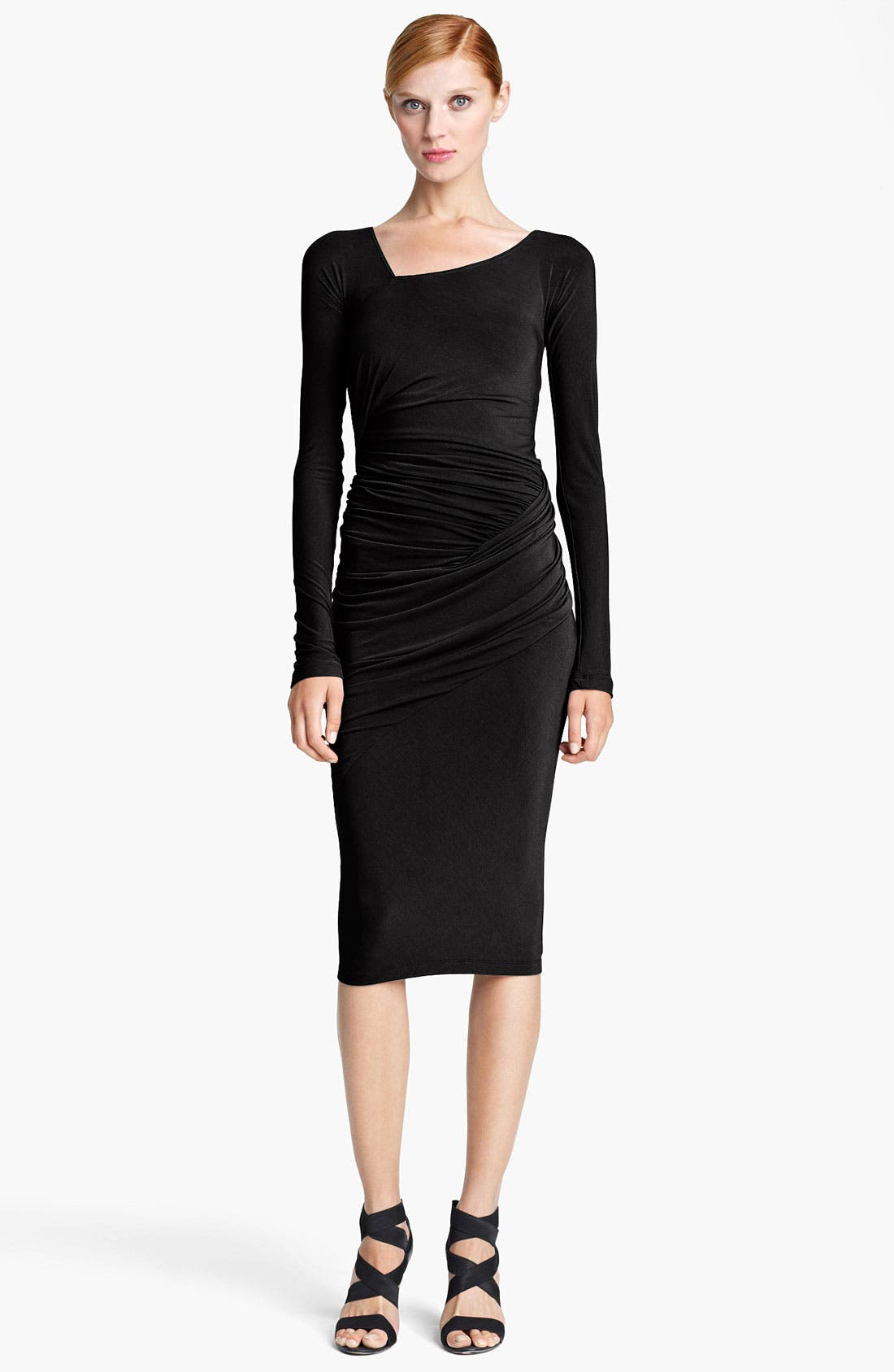 Alternate Image 1 Selected - Donna Karan Collection Draped Jersey Dress