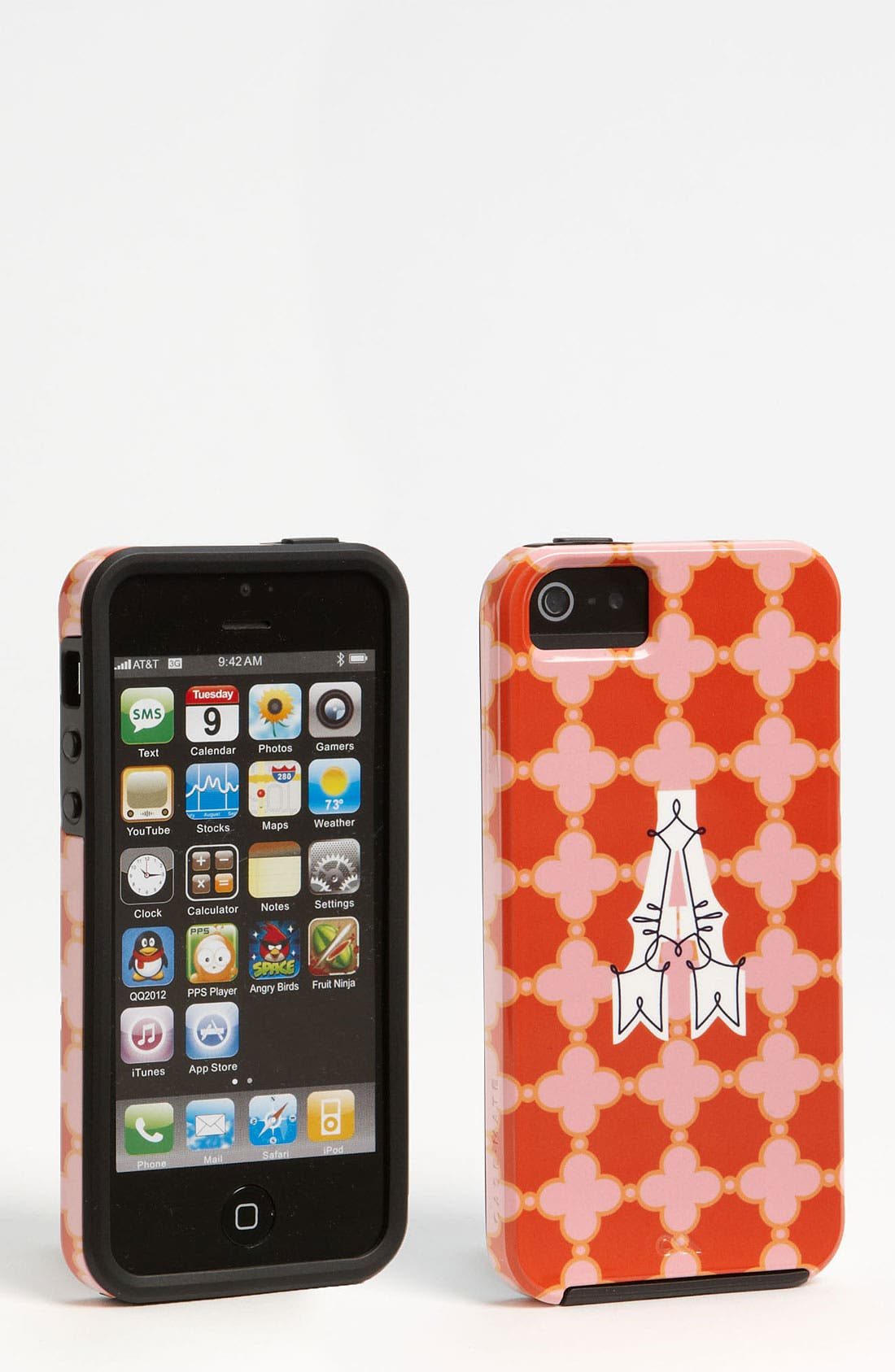 Alternate Image 1 Selected - Case-Mate® 'Monogram Dot' iPhone 5 Case (Nordstrom Exclusive)