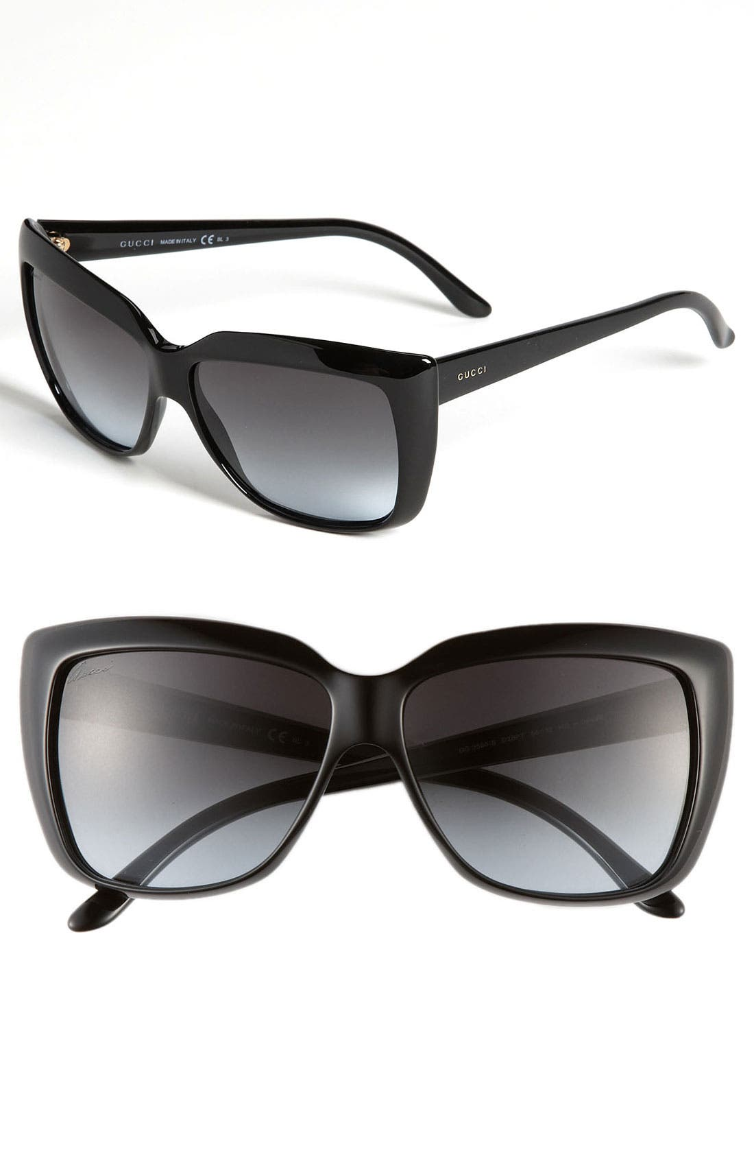Alternate Image 1 Selected - Gucci 58mm Retro Sunglasses