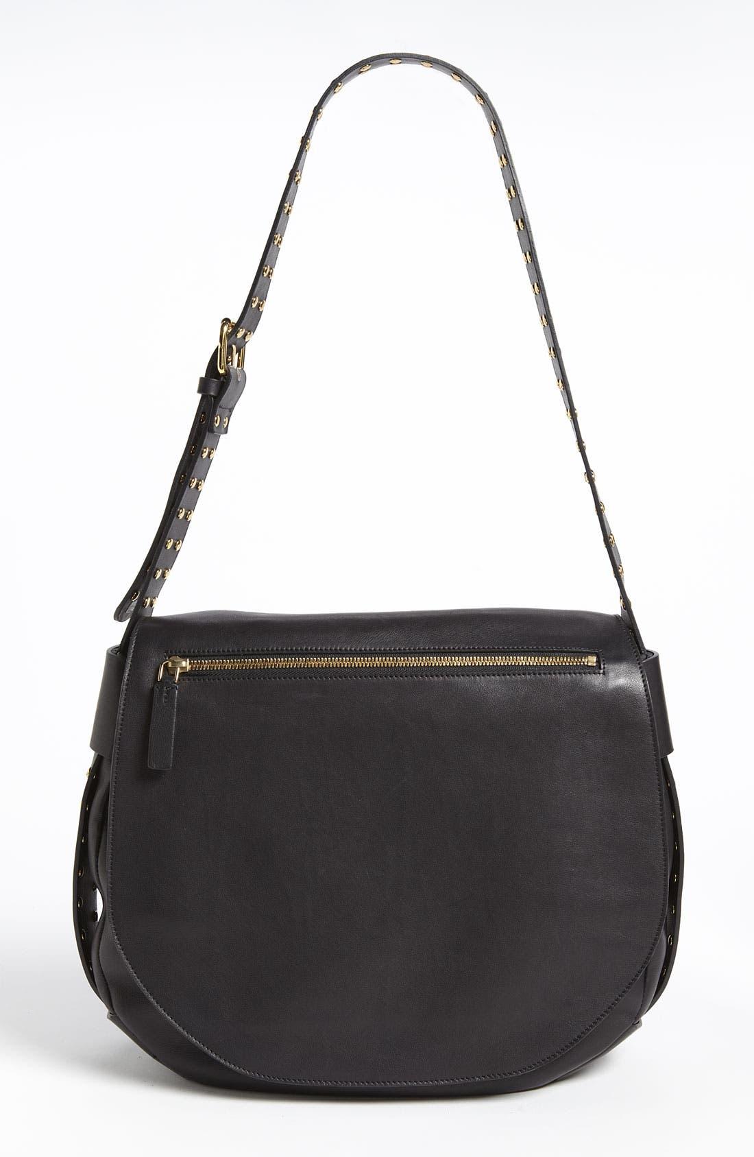 Alternate Image 1 Selected - Marni 'Large' Studded Crossbody Flap Bag