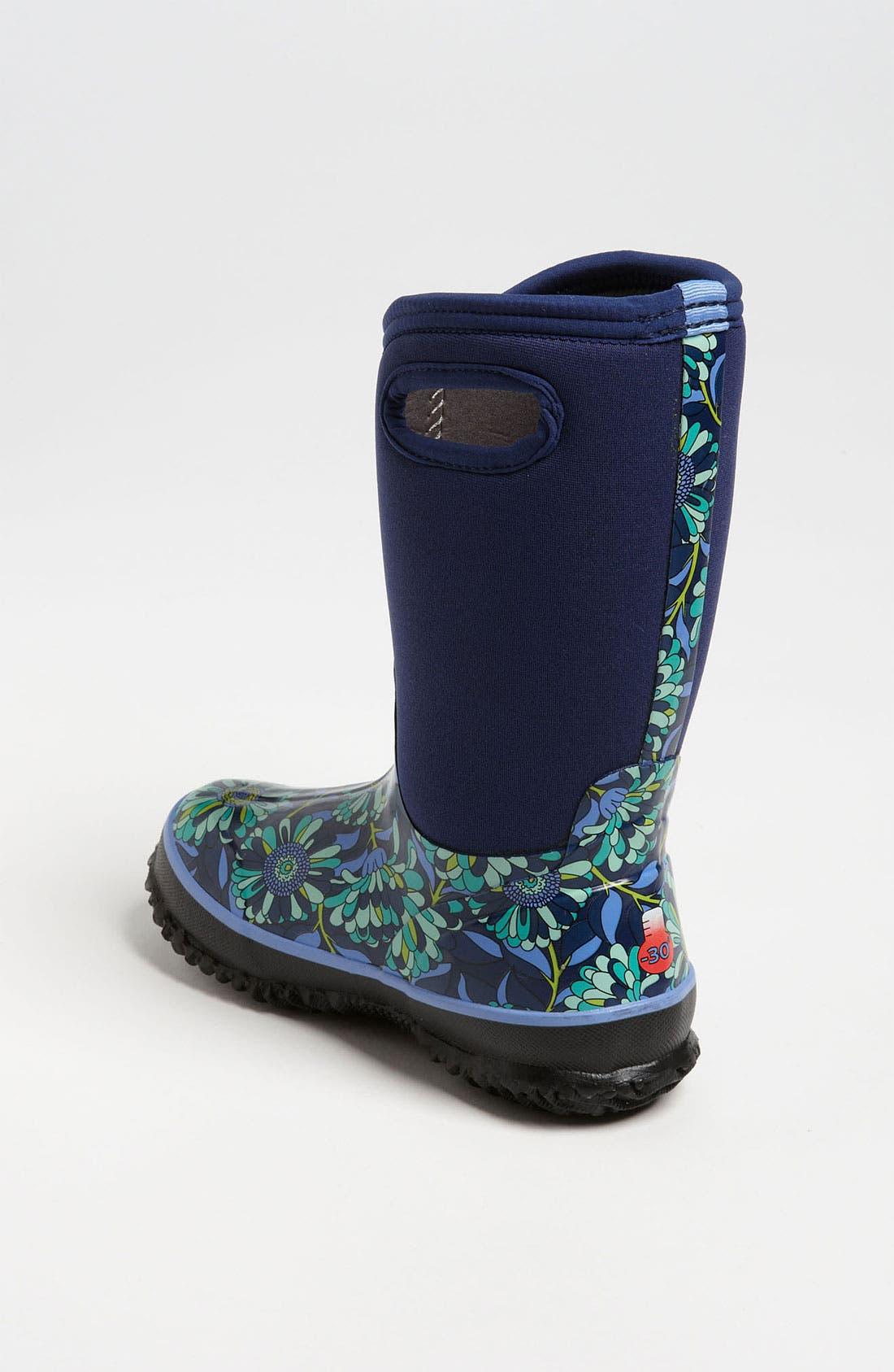 Alternate Image 2  - Bogs 'Classic High - Mumsie' Waterproof Boot (Toddler, Little Kid & Big Kid)