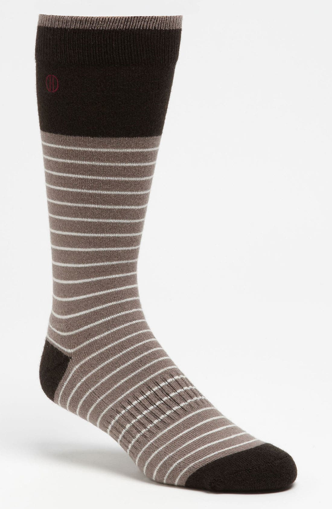 Main Image - David Donahue Wool Blend Socks