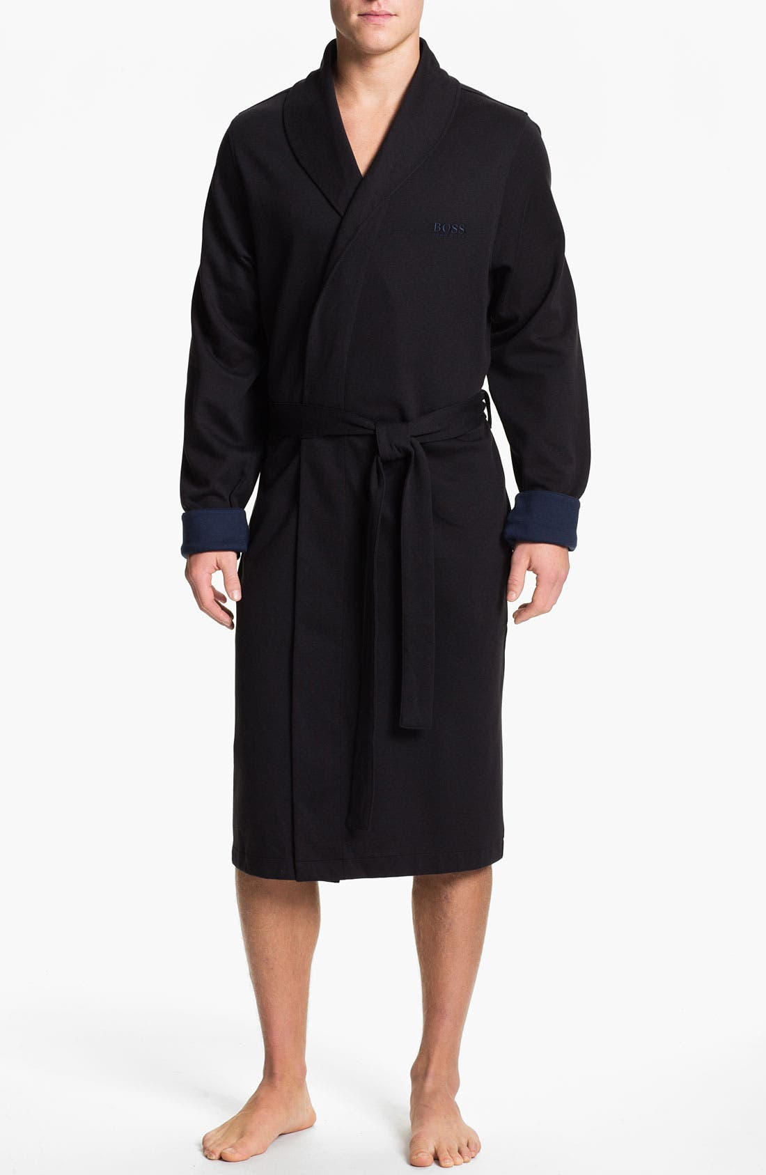 Alternate Image 1 Selected - BOSS HUGO BOSS 'Innovation 3' Shawl Collar Knit Robe