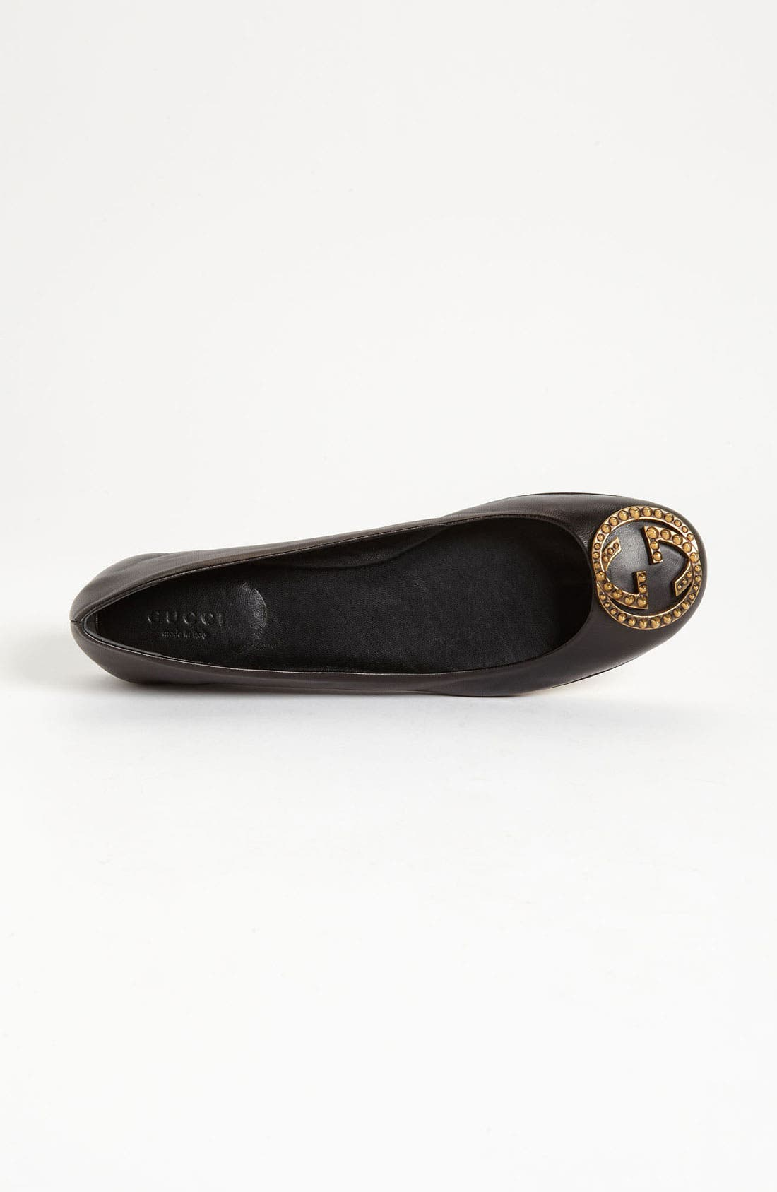 Alternate Image 3  - Gucci Logo Ballet Flat