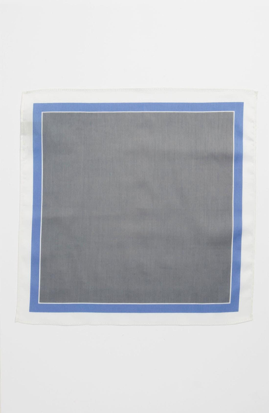 Alternate Image 2  - Michael Kors Border Pocket Square